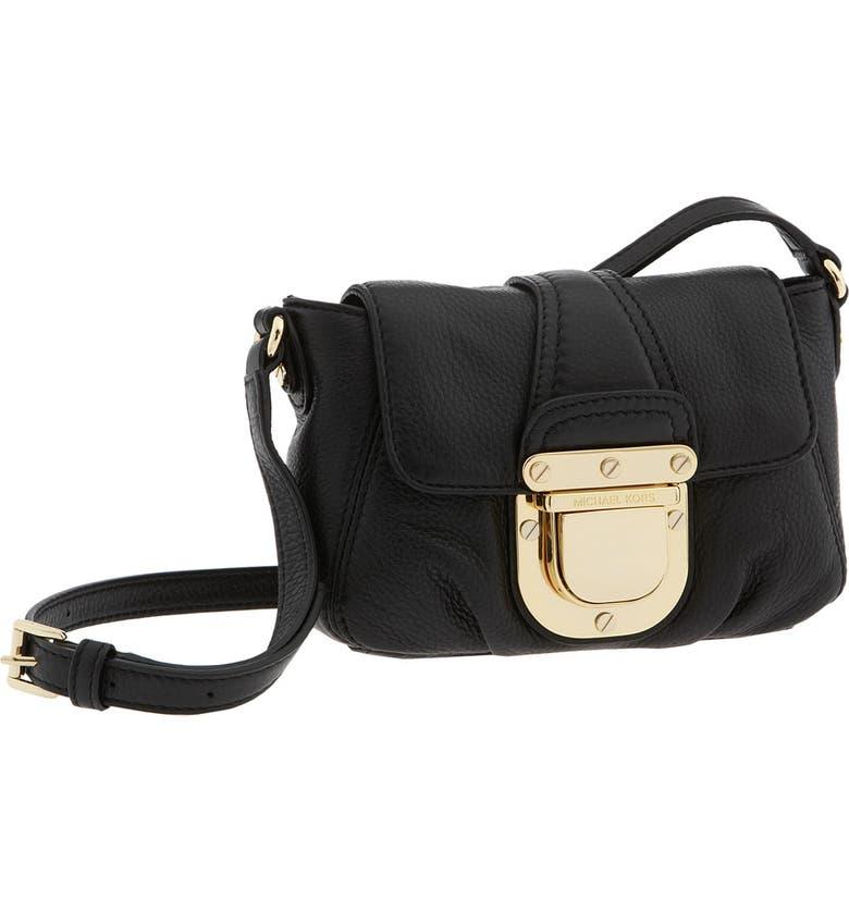 334cee24db095e MICHAEL MICHAEL KORS 'Charlton' Python Embossed Crossbody Bag, Small, Main,  ...