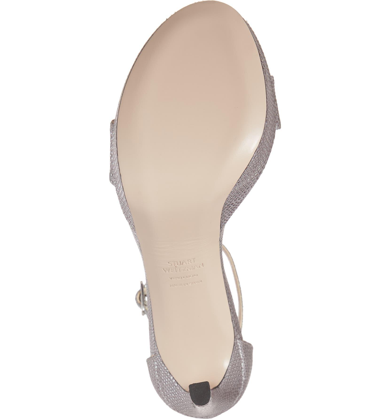 e9826dcbccc2 Stuart Weitzman Sohot Crystalline Platform Sandal (Women)