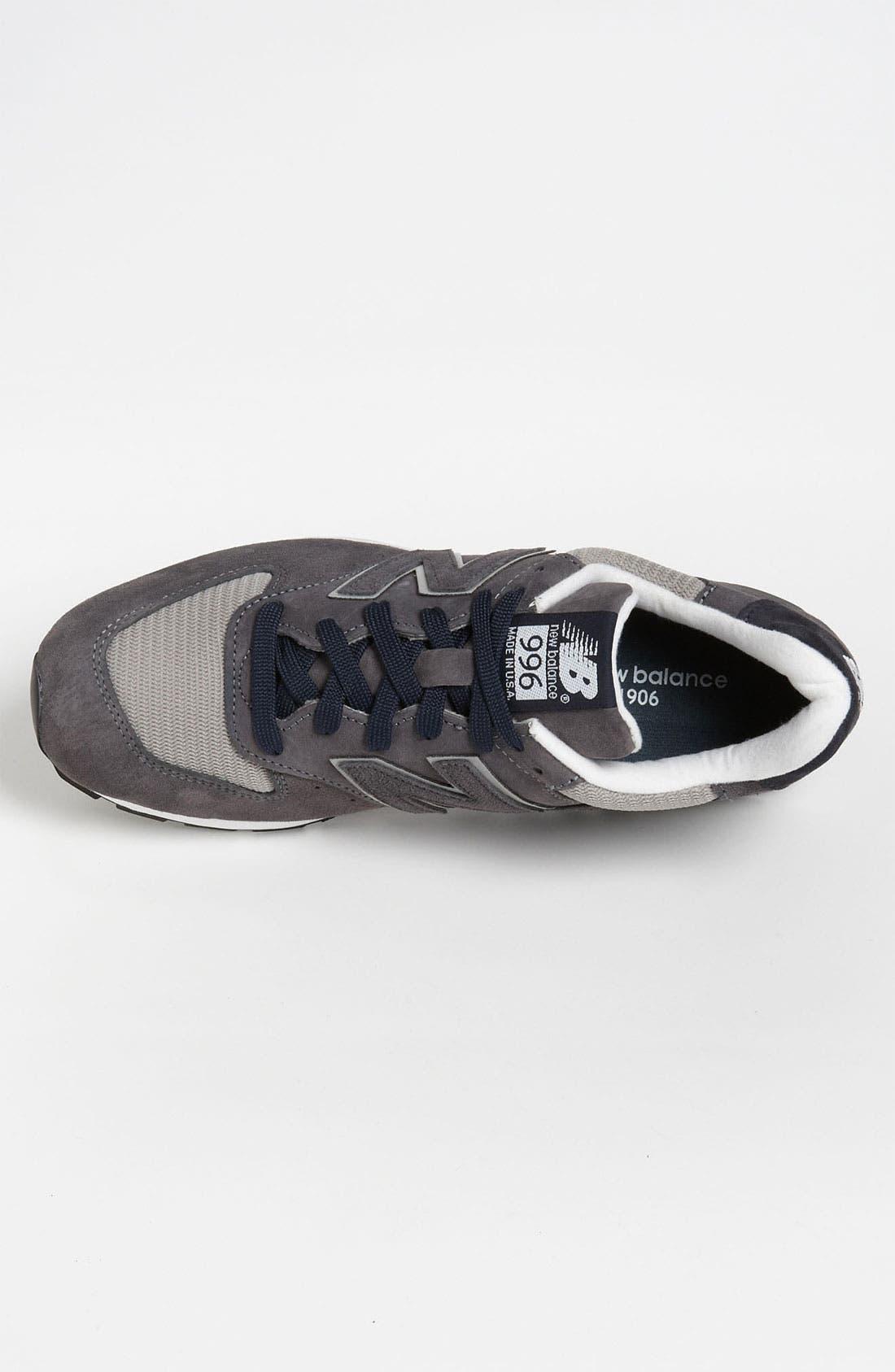 NEW BALANCE, '996' Sneaker, Alternate thumbnail 4, color, 030