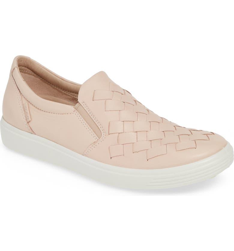 77dd055f7f1c ECCO Soft 7 Woven Slip-On Sneaker (Women)