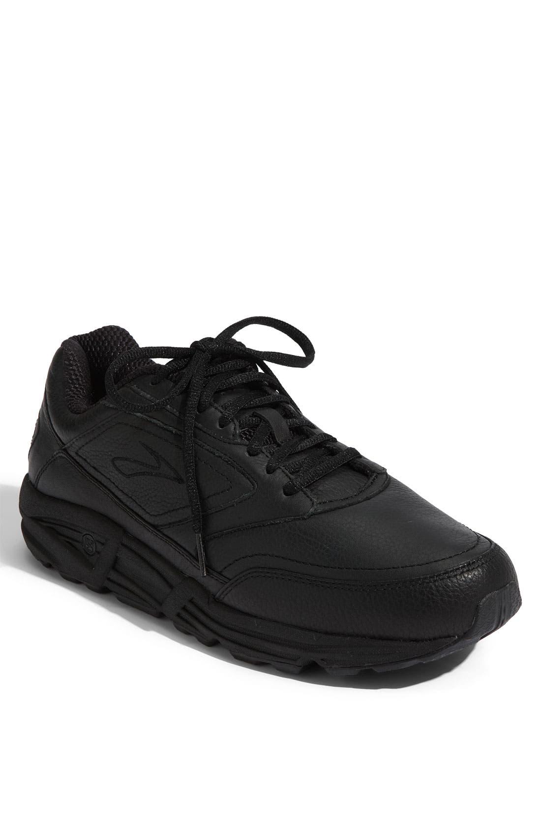 BROOKS, 'Addiction' Walking Shoe, Main thumbnail 1, color, BLACK