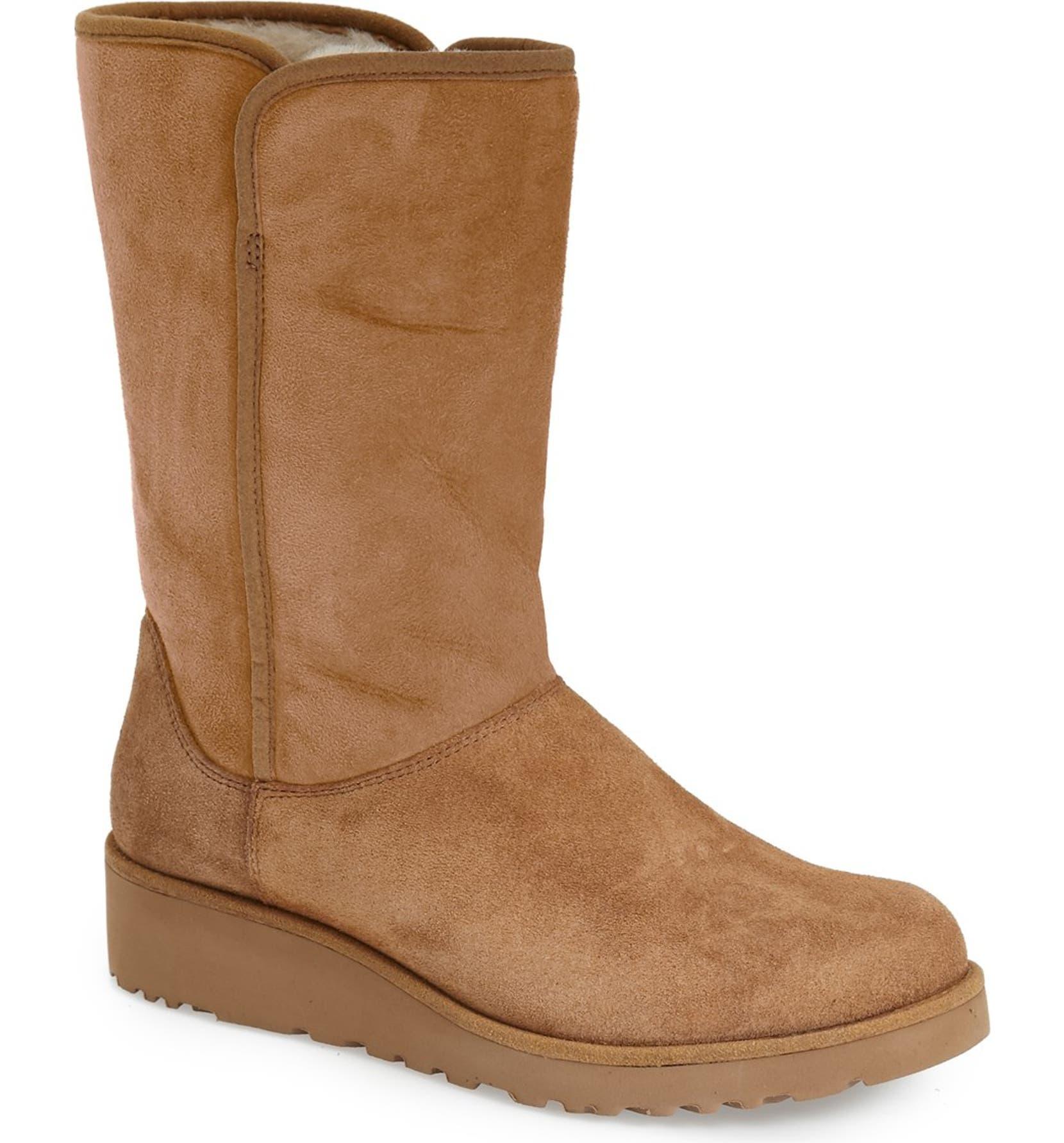 ea794dd07e452 UGG® Amie - Classic Slim™ Water Resistant Short Boot (Women)