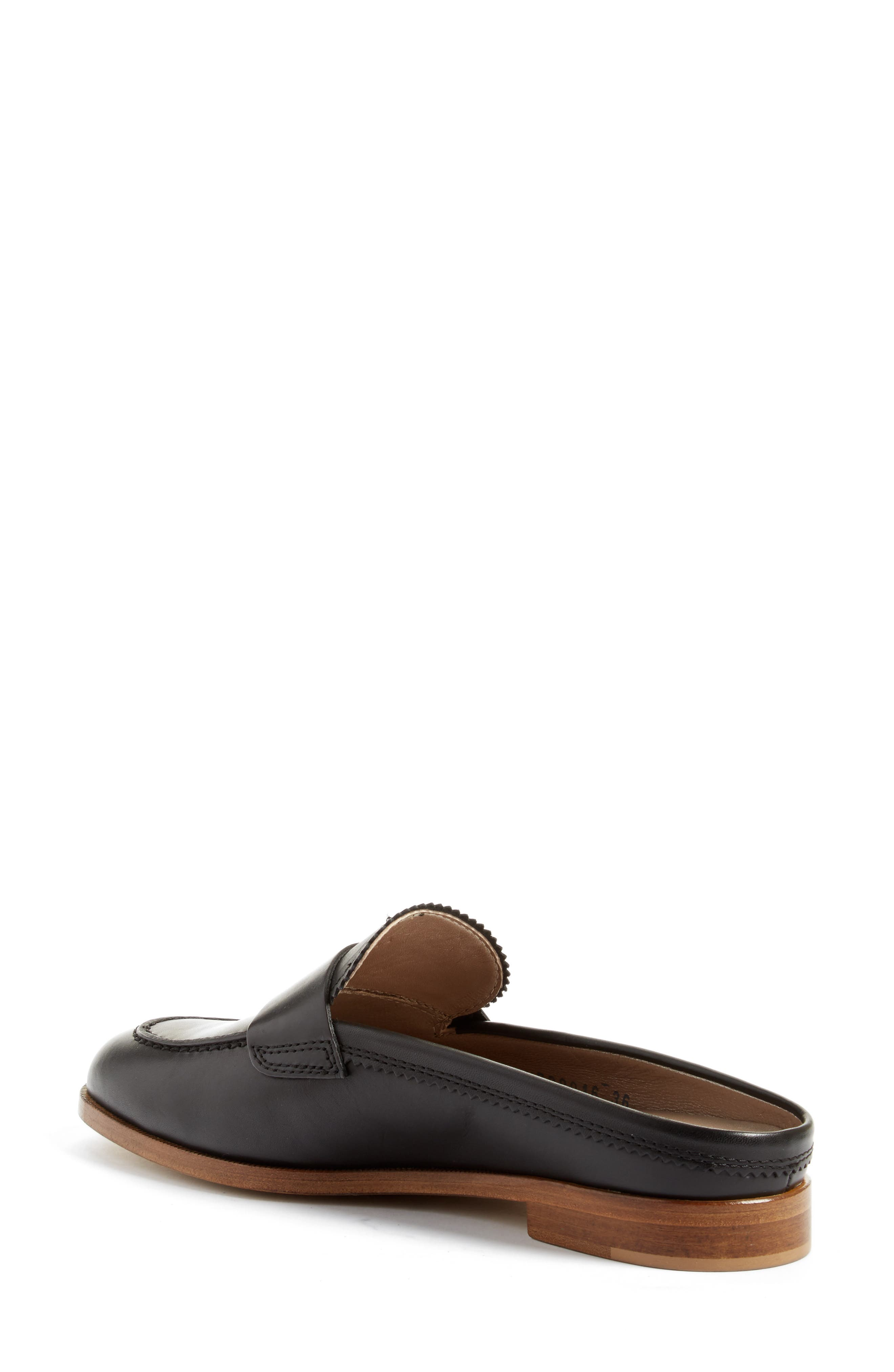 AGL, Penny Loafer Mule, Alternate thumbnail 2, color, 001