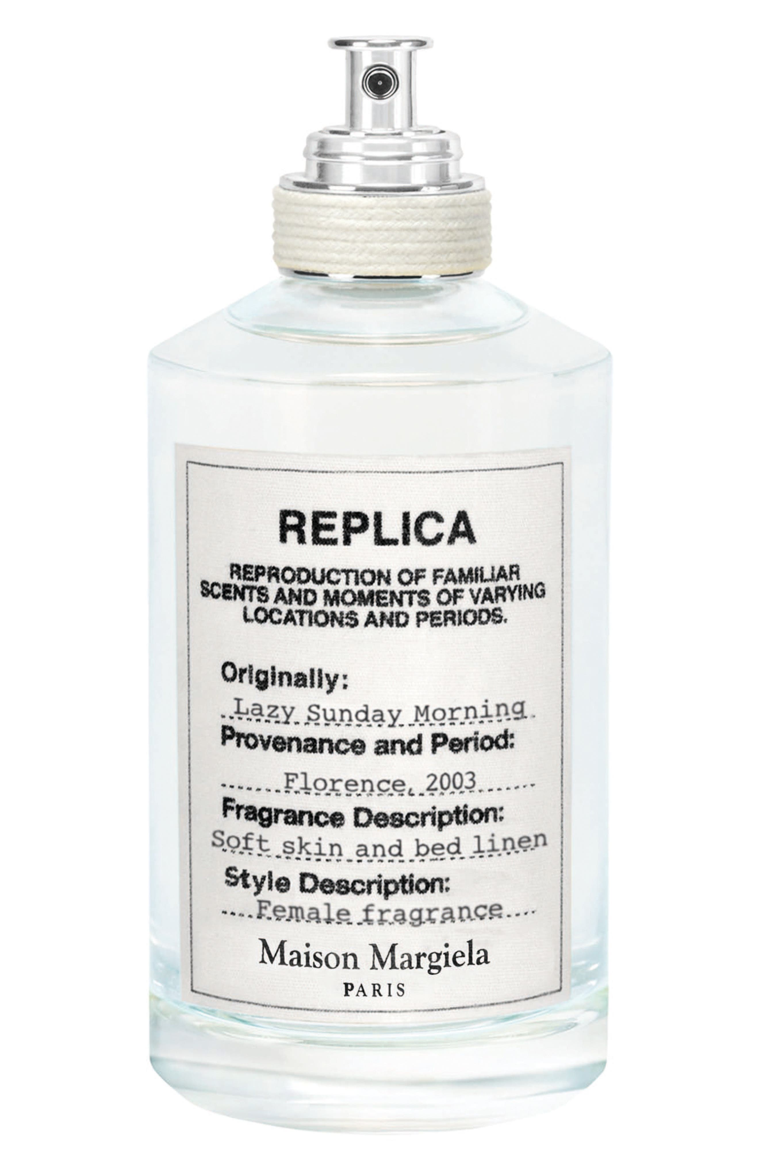 MAISON MARGIELA, Replica Lazy Sunday Morning Fragrance, Main thumbnail 1, color, NO COLOR