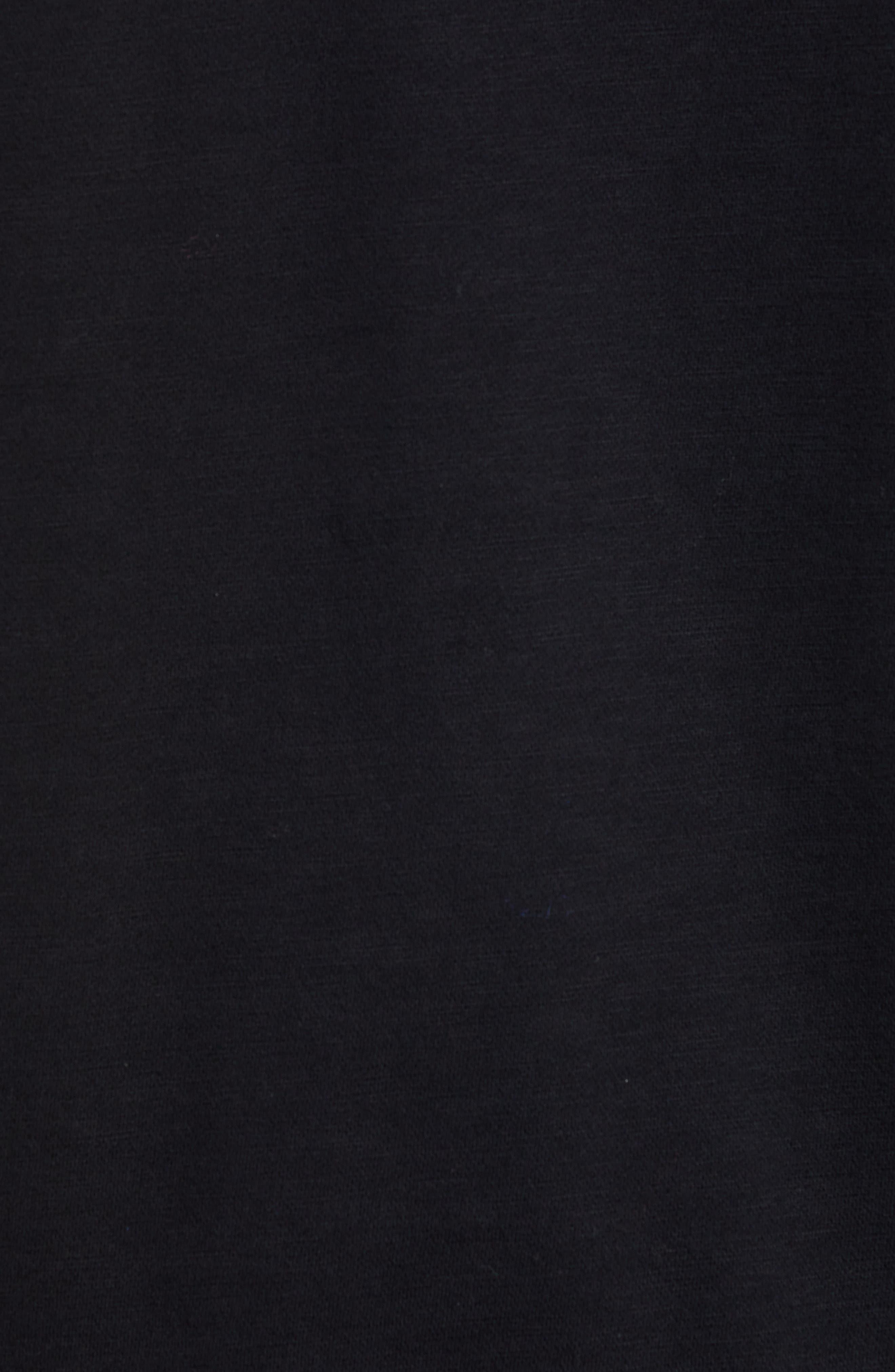 RAG & BONE, Regular Upside Down Sweatshirt, Alternate thumbnail 5, color, 001