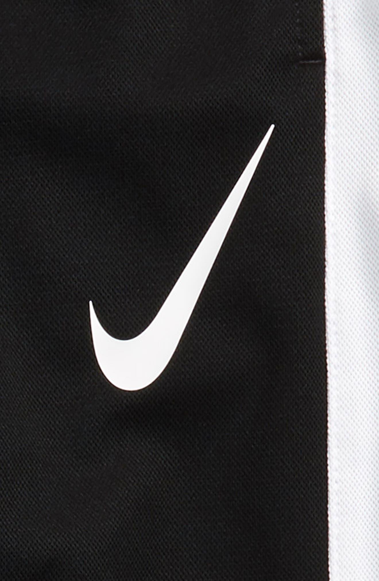 NIKE, Performance Knit Track Pants, Alternate thumbnail 3, color, BLACK