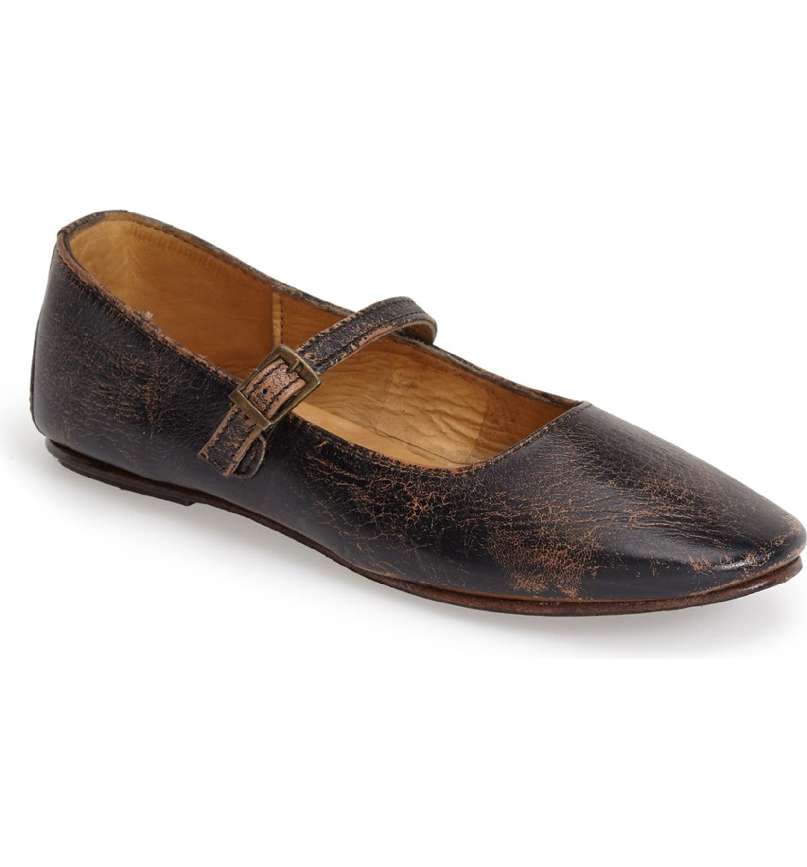 28214db5fdbe Bed Stu  Shuffle  Distressed Mary Jane Flat (Women)