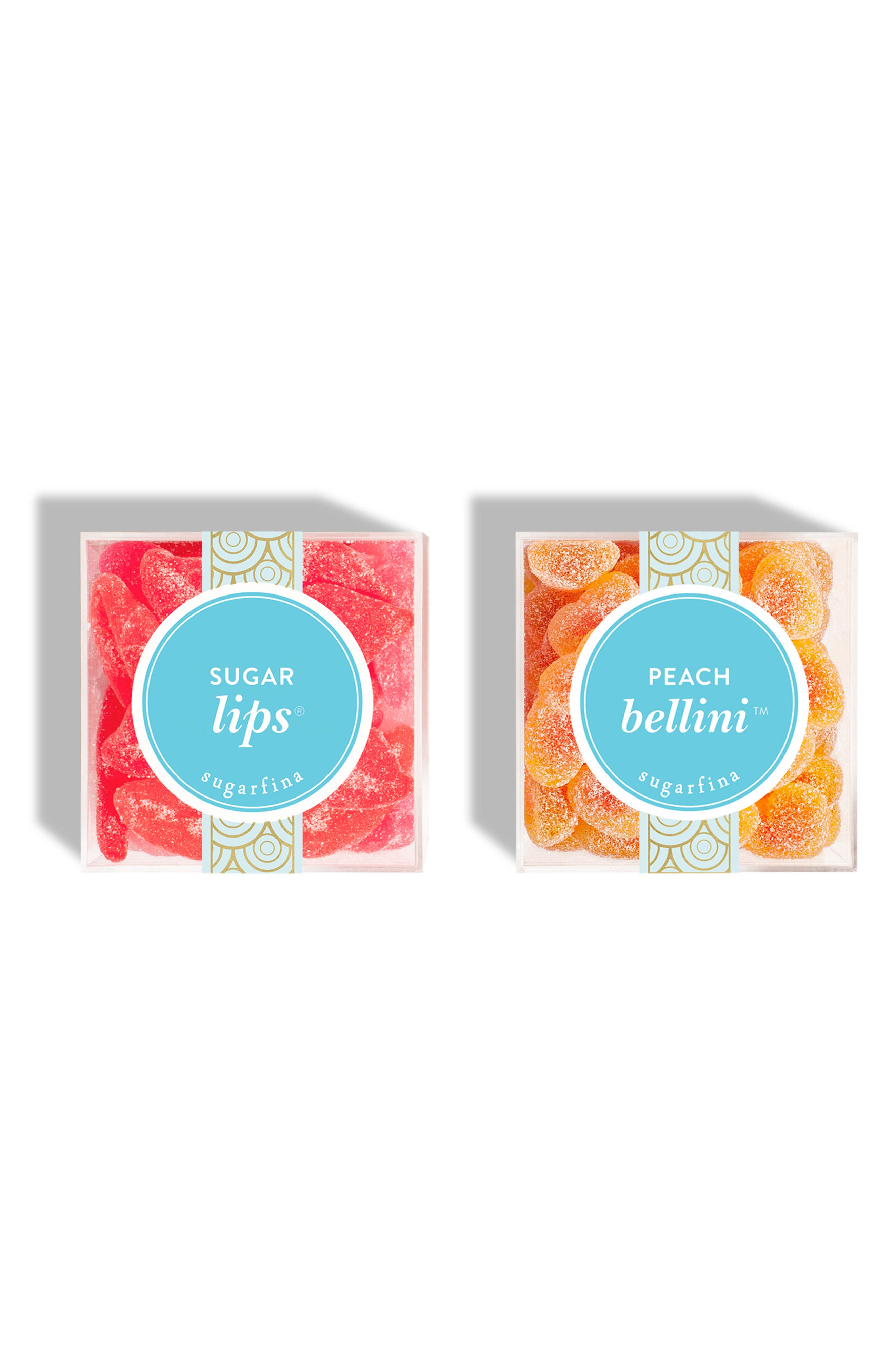 SUGARFINA, Set of 2 Hugs & Kisses Candy Cubes, Main thumbnail 1, color, 650