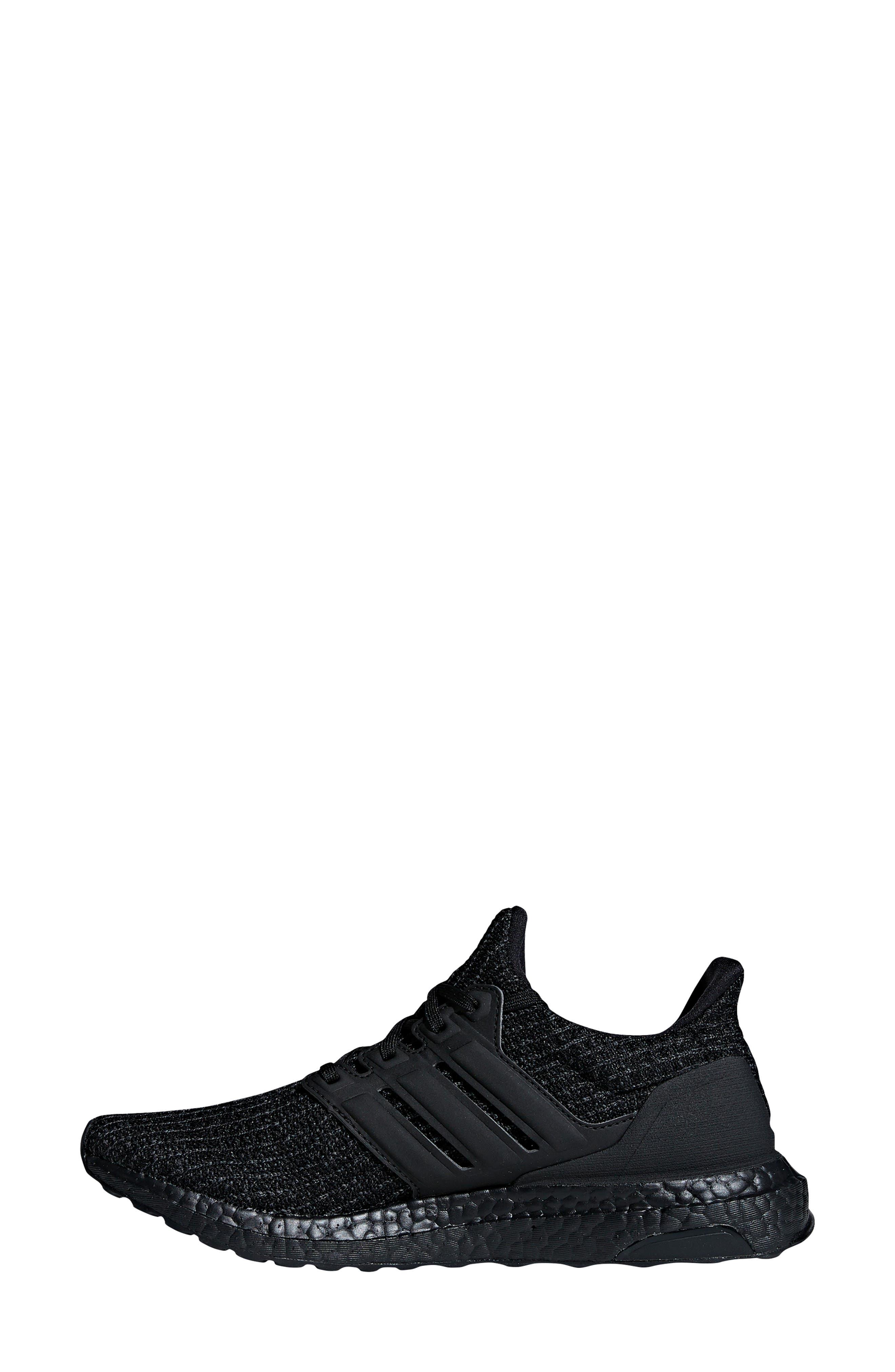 ADIDAS, 'UltraBoost' Running Shoe, Alternate thumbnail 10, color, CORE BLACK/ GOLD METALLIC