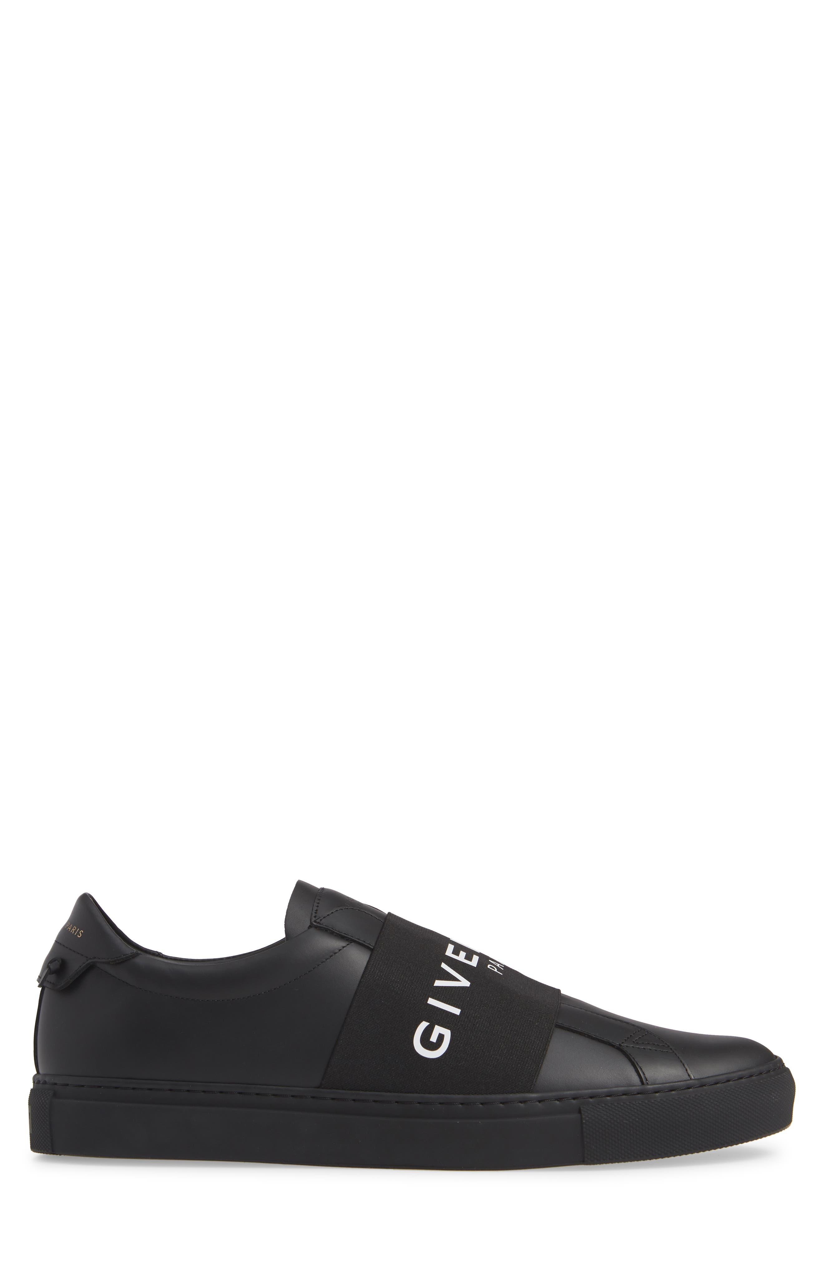 GIVENCHY, Urban Knots Sneaker, Alternate thumbnail 3, color, BLACK