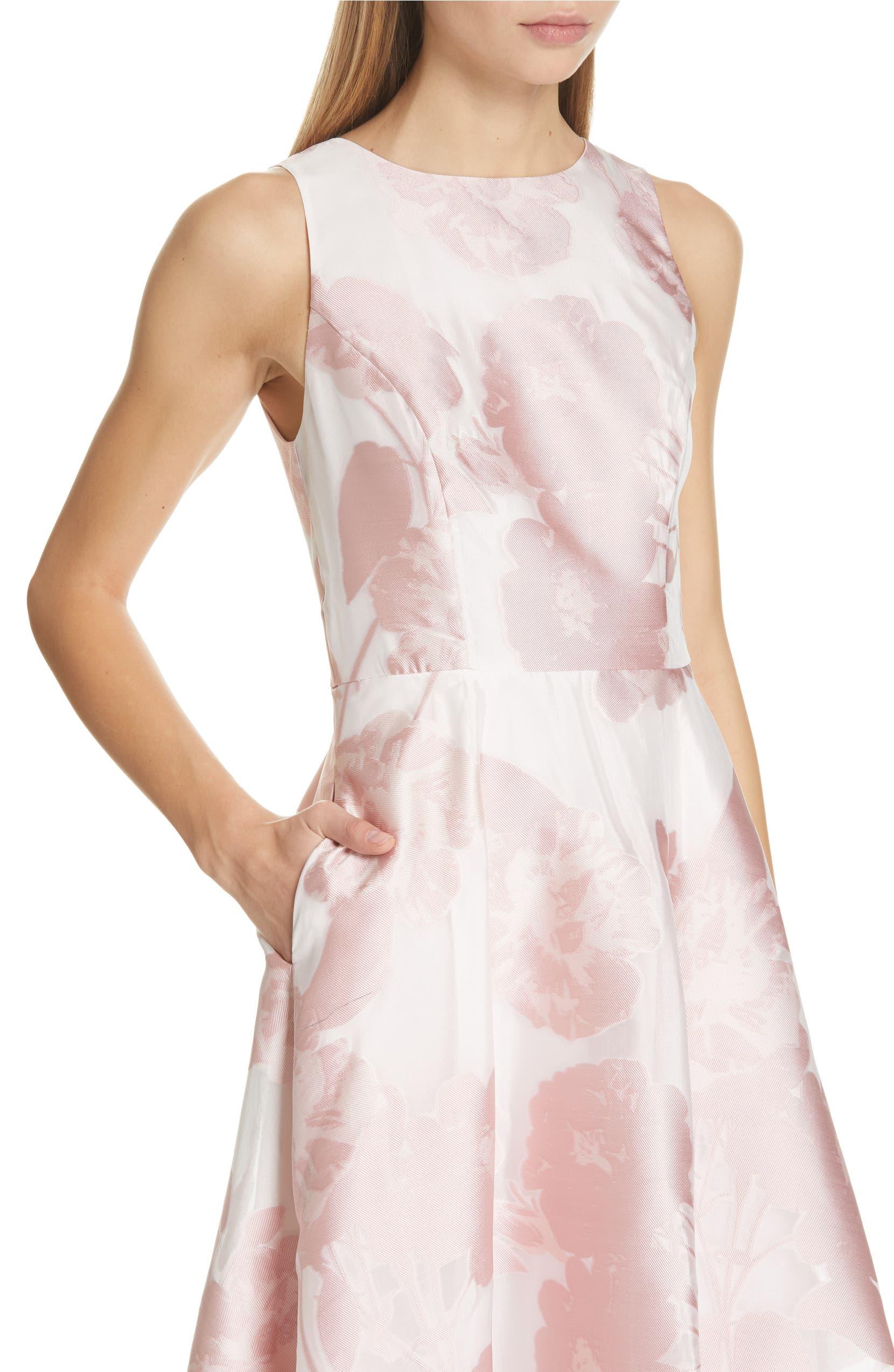 c5595baf7 Ted Baker London Wylieh Jacquard Midi Dress
