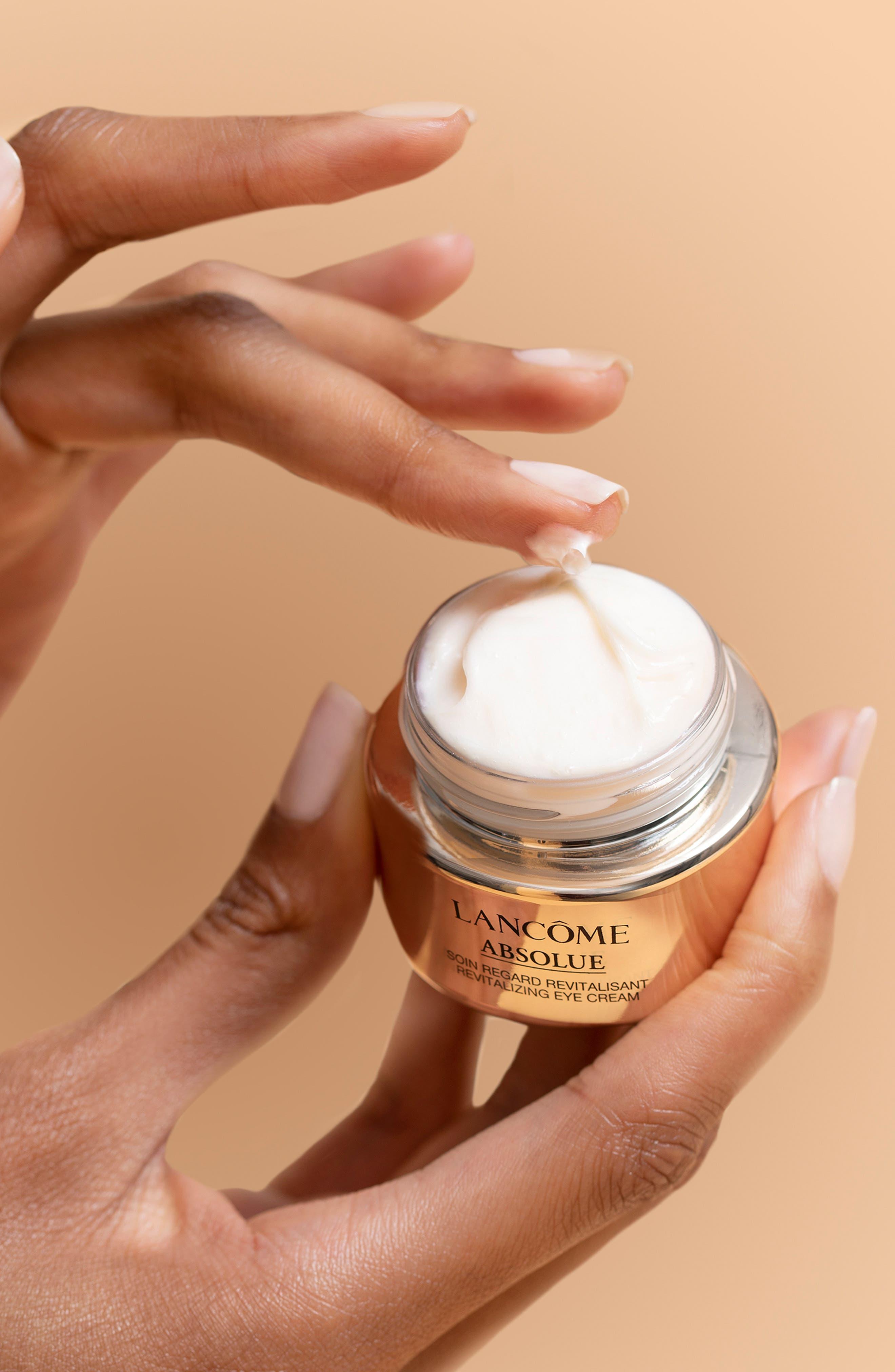 LANCÔME, Absolue Revitalizing Eye Cream, Alternate thumbnail 6, color, NO COLOR