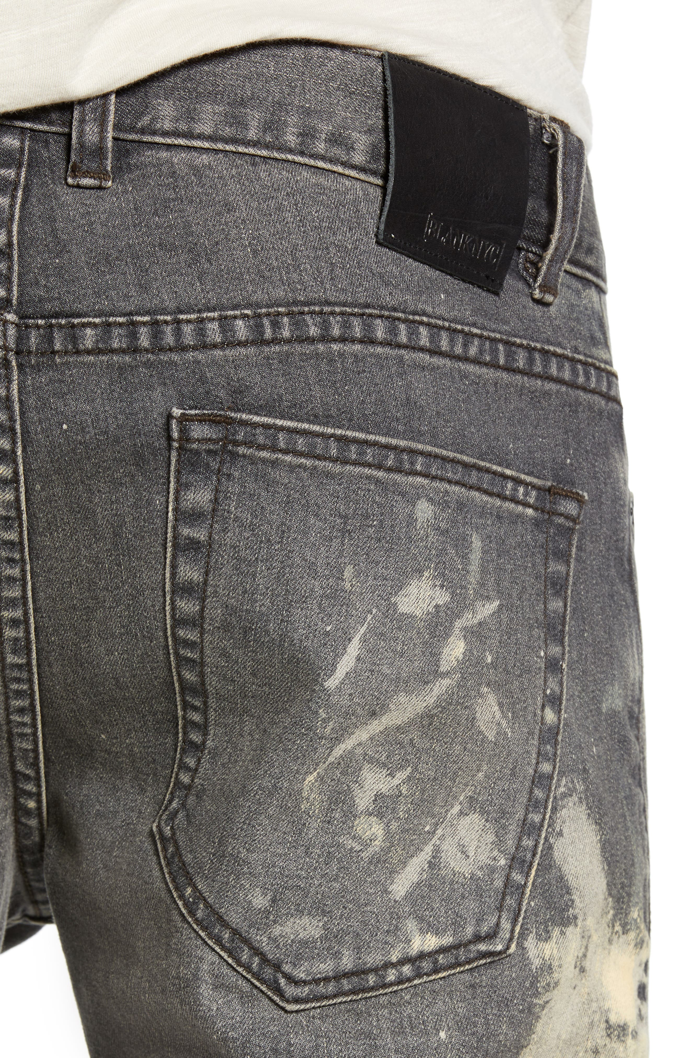 BLANKNYC, Horatio Skinny Fit Jeans, Alternate thumbnail 5, color, GOOD TIMES BAD TIMES