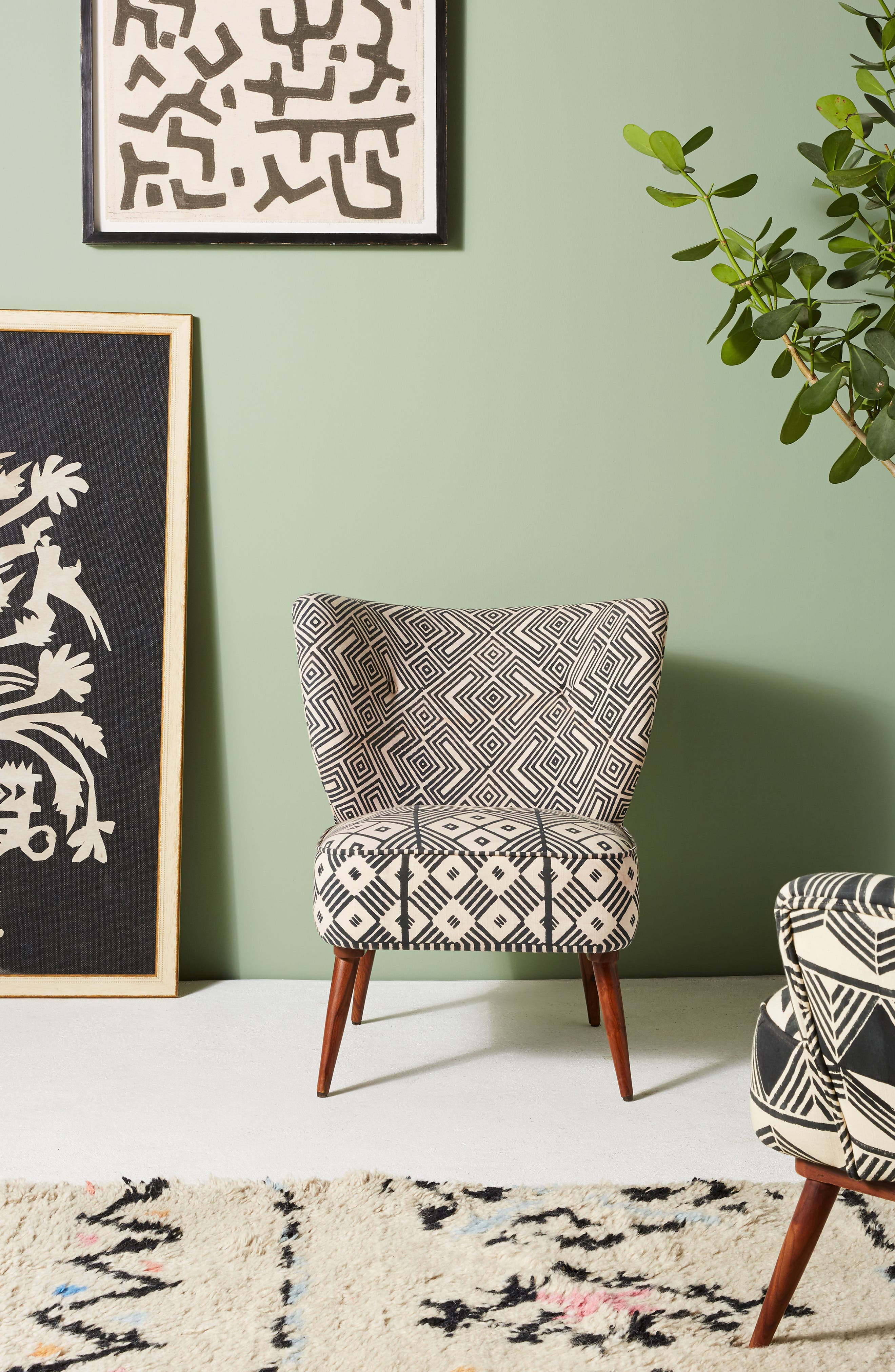 ANTHROPOLOGIE, Ulla Chair, Alternate thumbnail 7, color, 020