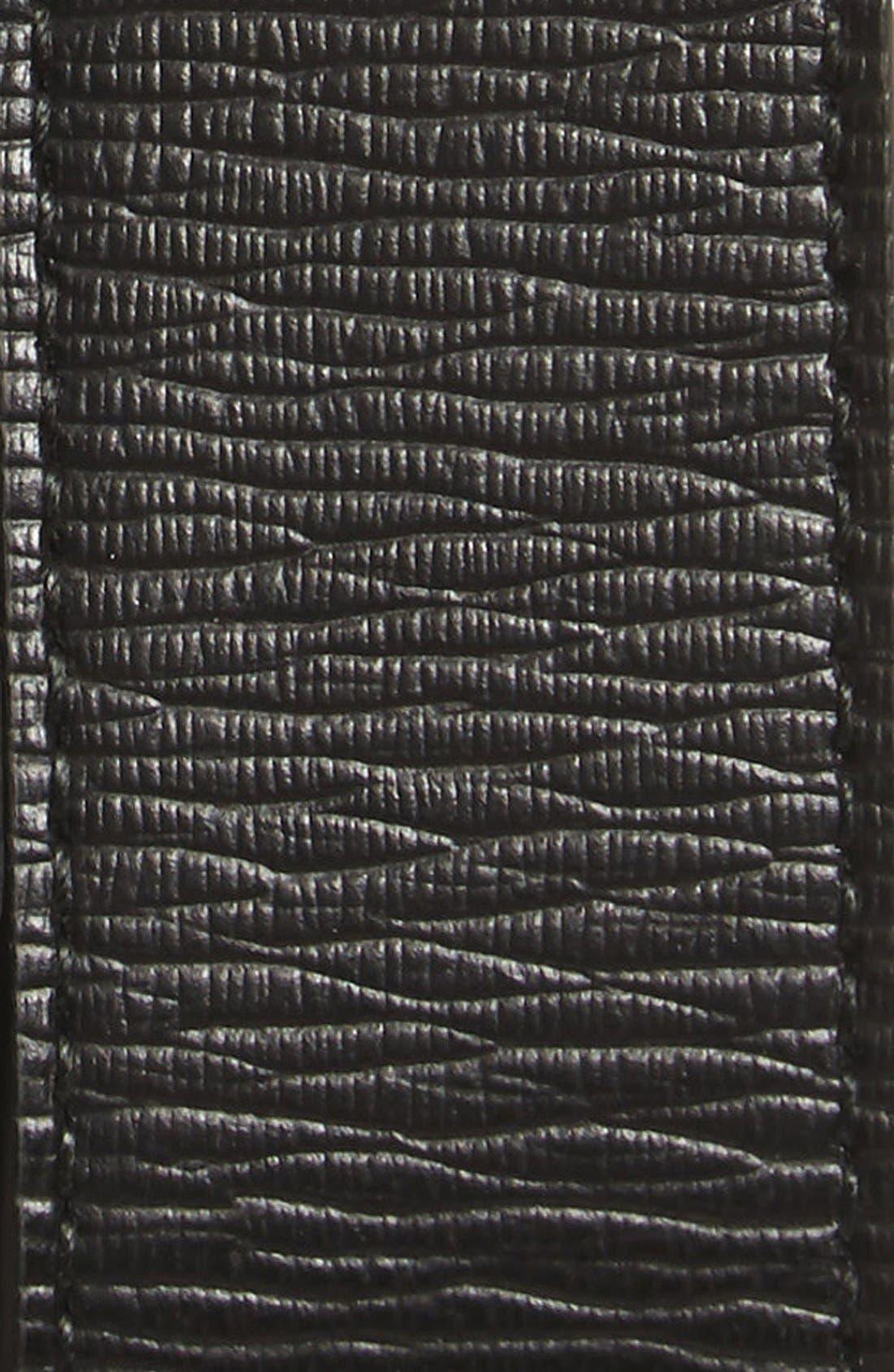 SALVATORE FERRAGAMO, Revival Reversible Leather Belt, Alternate thumbnail 4, color, BLACK/BROWN