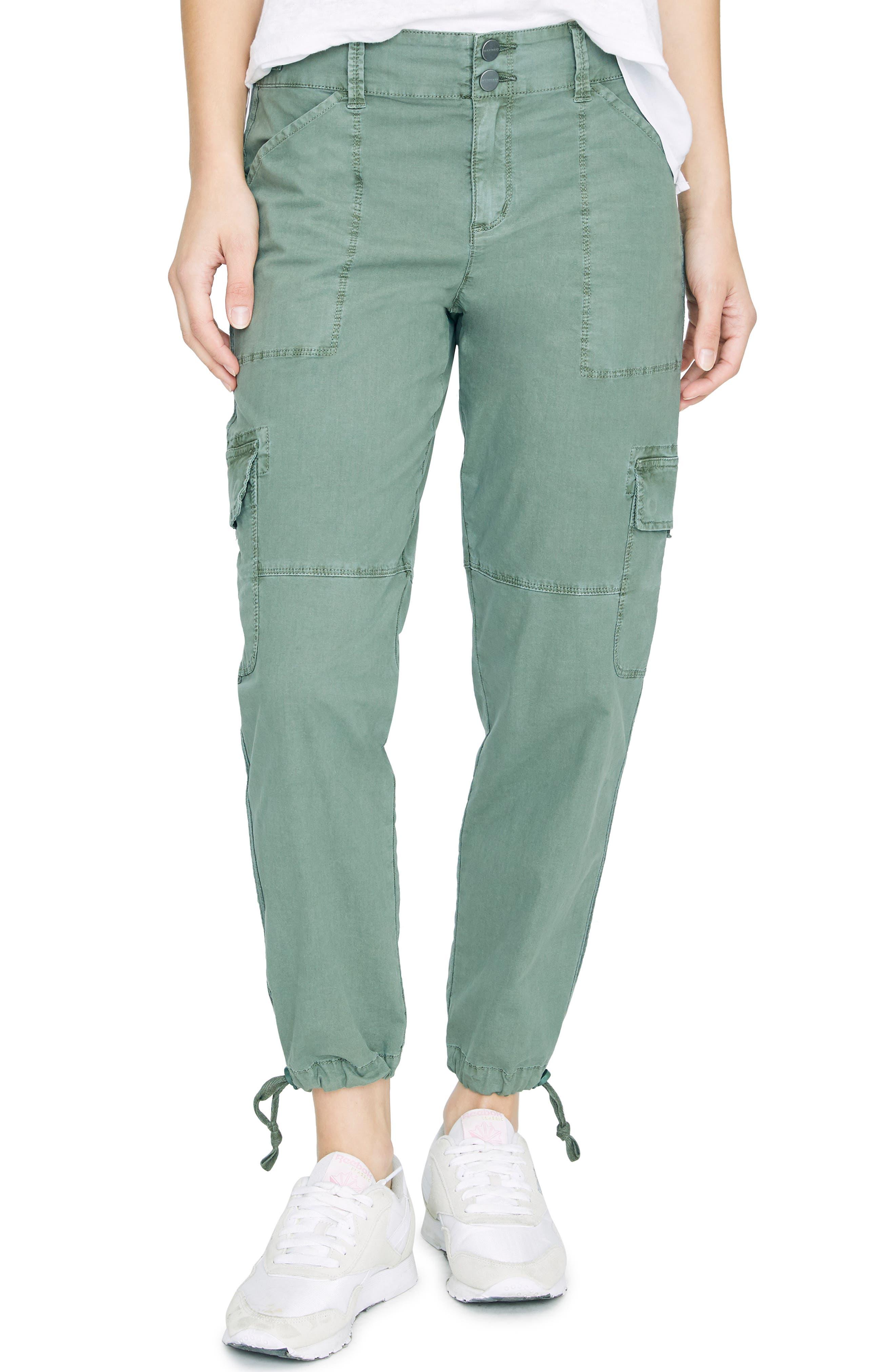 Sanctuary Terrain Crop Cargo Pants, 7 - Green