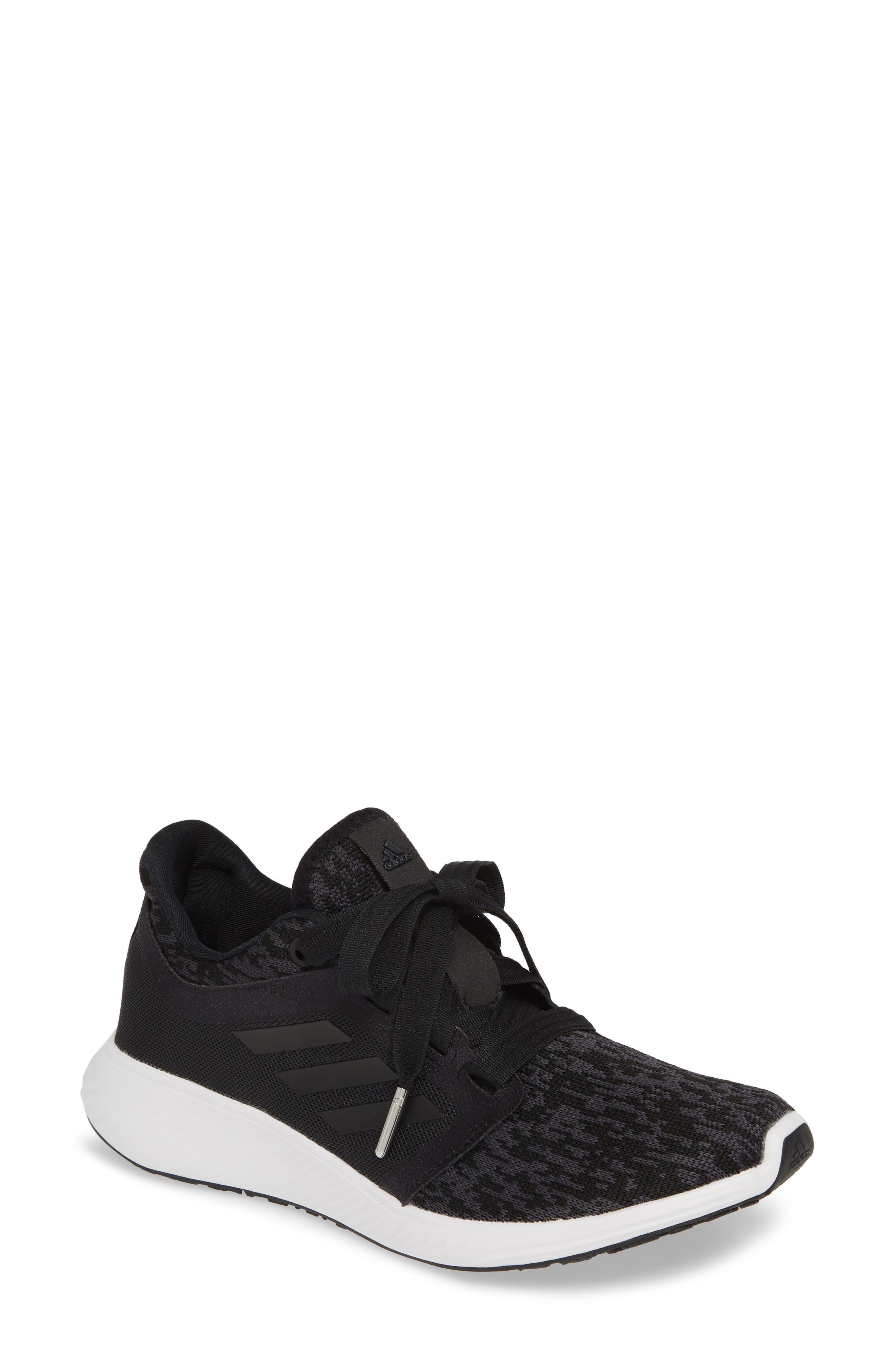 ADIDAS, Edge Lux 3 Running Shoe, Main thumbnail 1, color, CORE BLACK/ WHITE