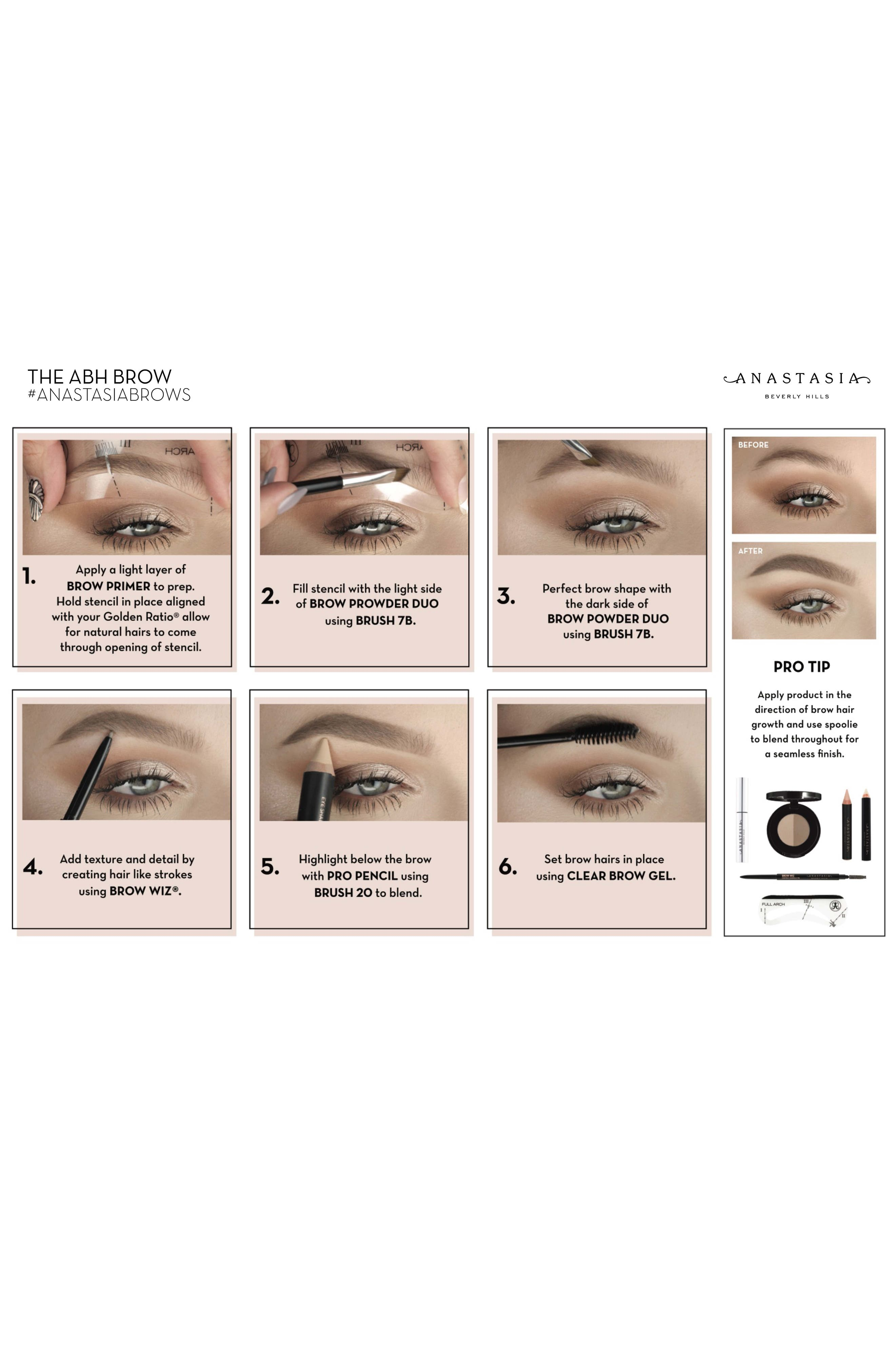 ANASTASIA BEVERLY HILLS, Brow Gel, Alternate thumbnail 2, color, CLEAR
