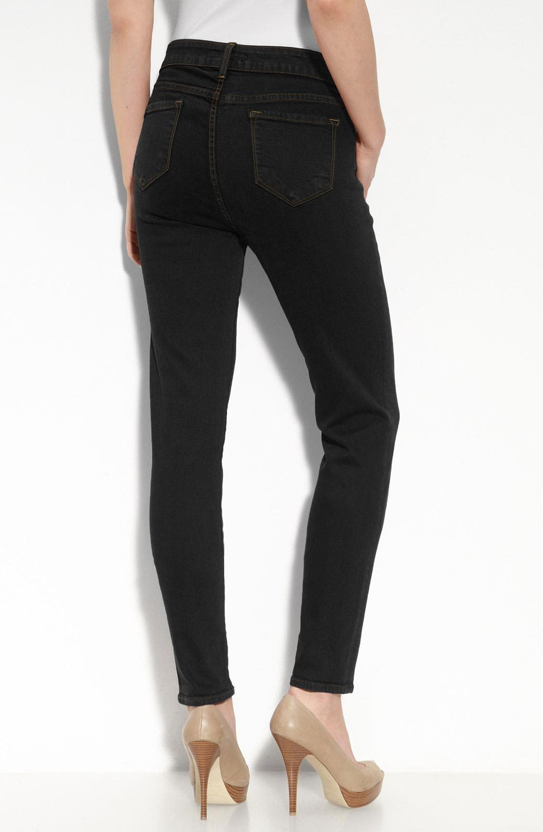 BLUE ESSENCE 'Eliot' Skinny Jeans, Main, color, 005
