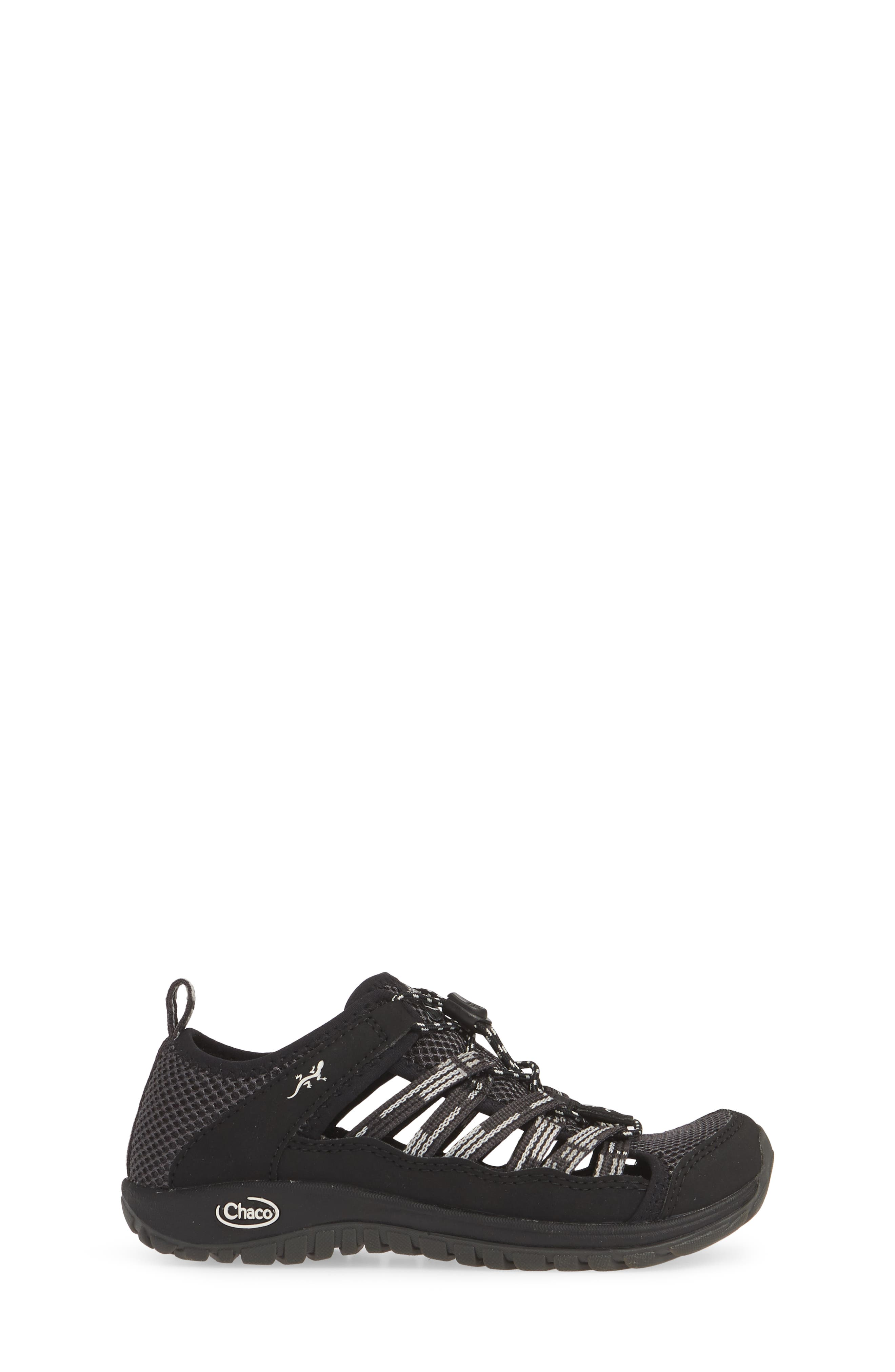 CHACO, Outcross 2 Water Sneaker, Alternate thumbnail 3, color, PAVEMENT BLACK