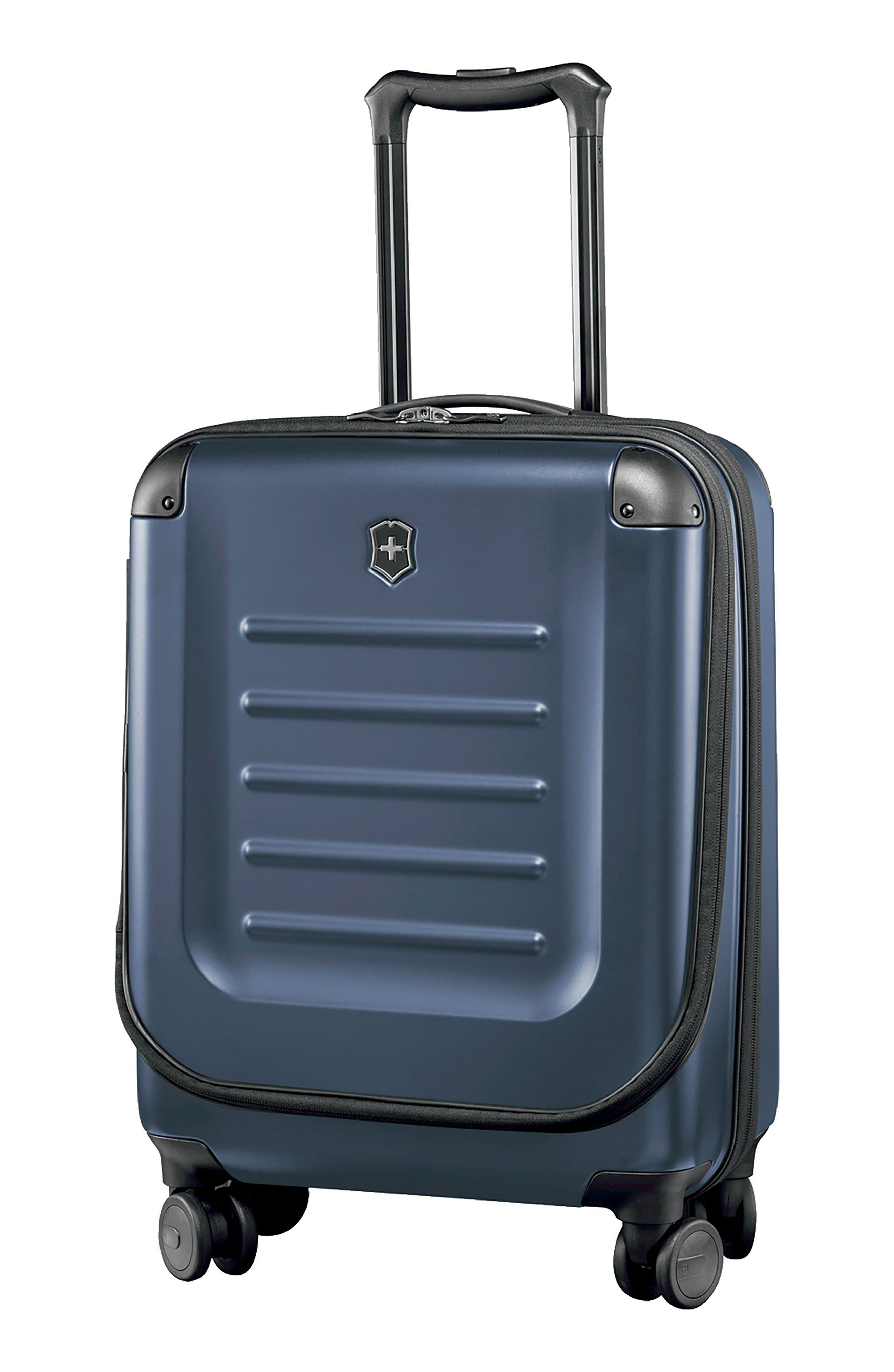 VICTORINOX SWISS ARMY<SUP>®</SUP> Spectra 2.0 Hard Sided Rolling 22-Inch Carry-On, Main, color, BLUE