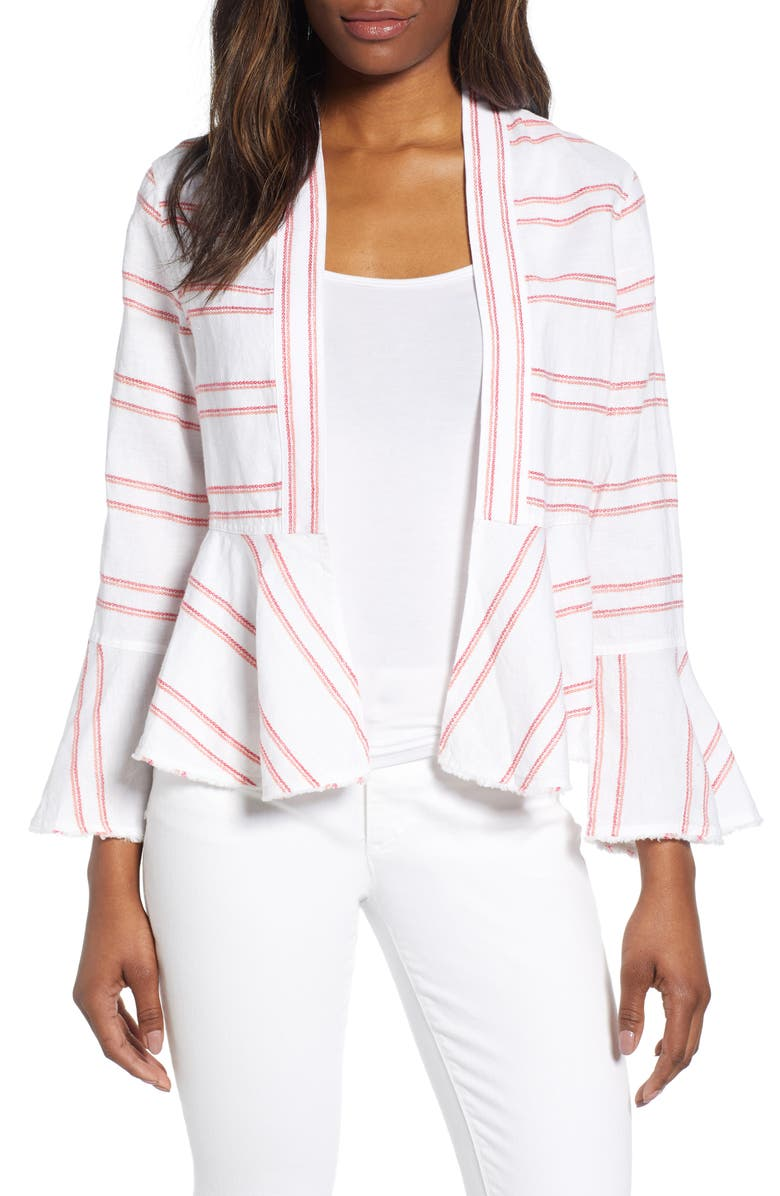 Tommy Bahama Jackets MARCELLA STRIPE LINEN JACKET