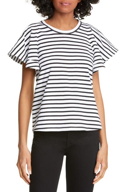 A.l.c Tops CARRIE STRIPE TEE