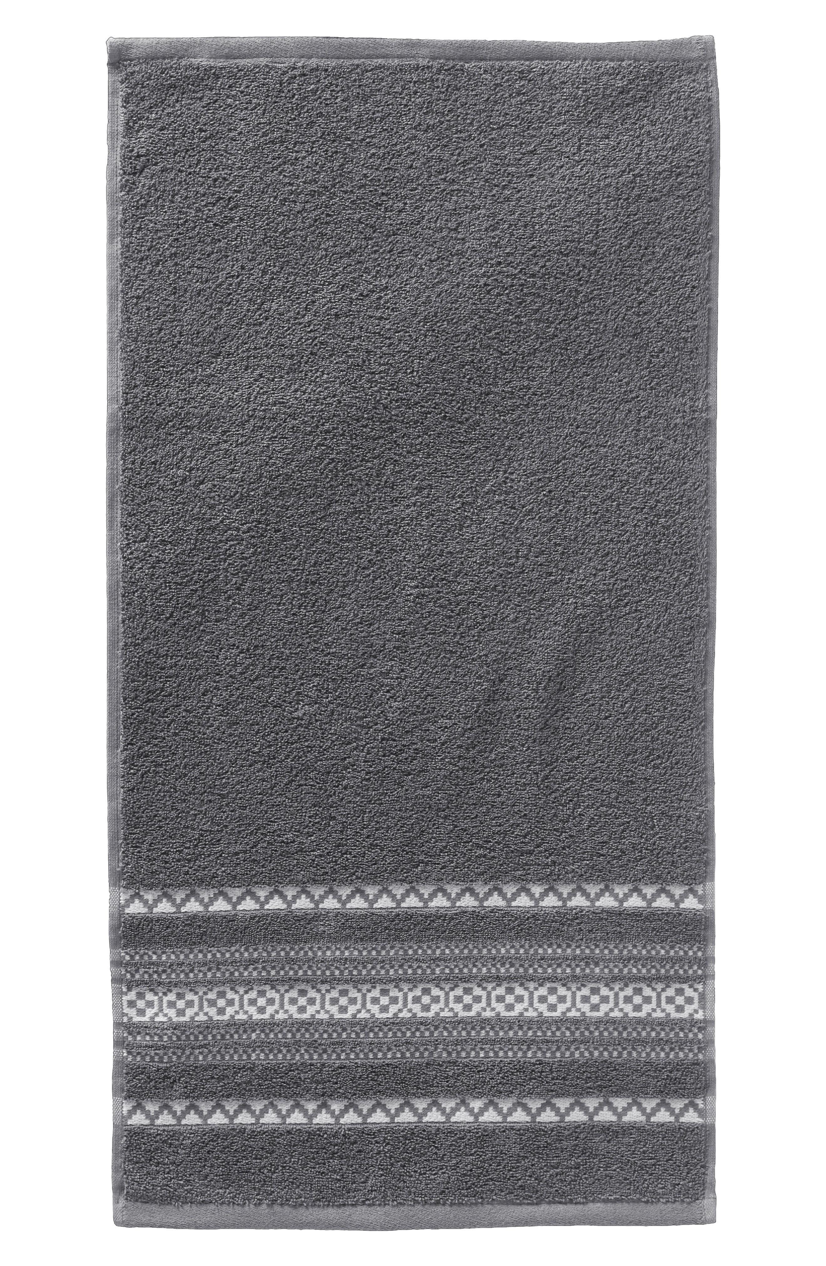 PENDLETON, Bohemian Fair Isle Hand Towel, Main thumbnail 1, color, 020