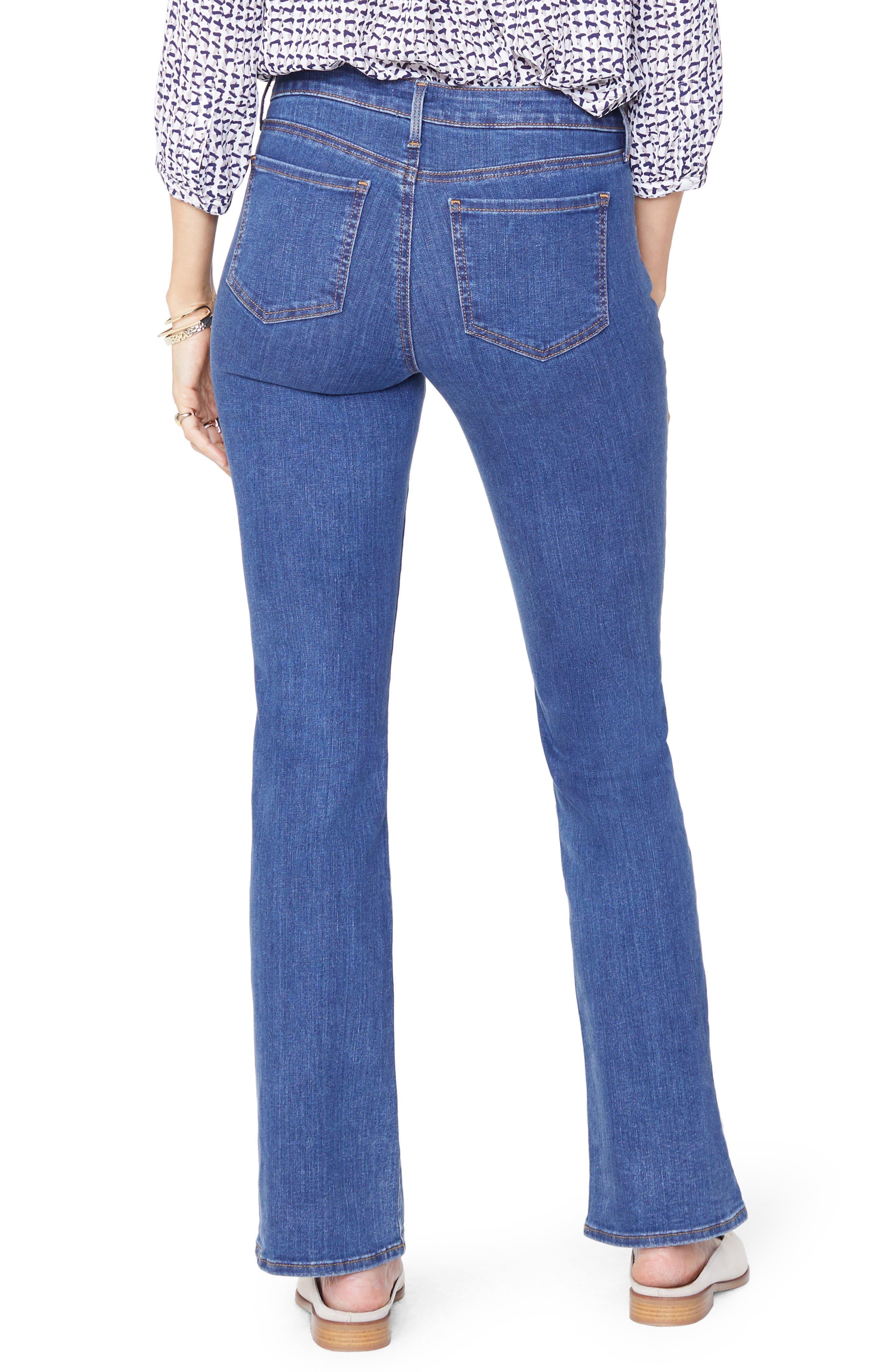 NYDJ, Barbara Stretch Bootcut Jeans, Alternate thumbnail 2, color, BATIK BLUE
