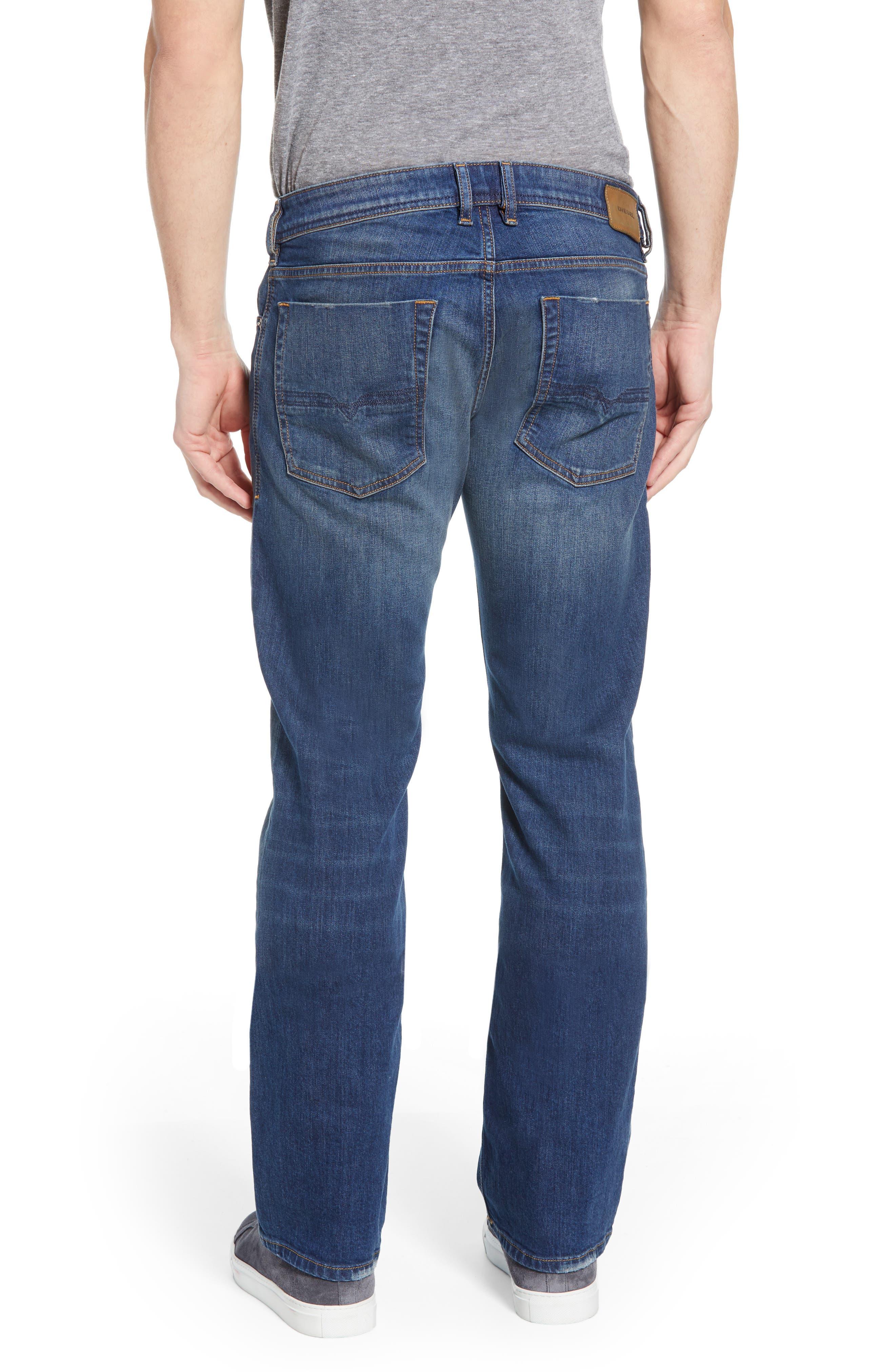 DIESEL<SUP>®</SUP>, Zatiny Bootcut Jeans, Alternate thumbnail 2, color, DENIM