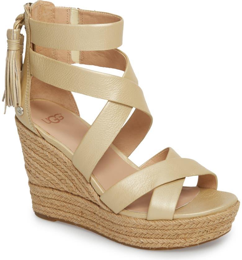 0d397a5e4f0 UGG SUP ®  SUP  Raquel Platform Wedge Sandal