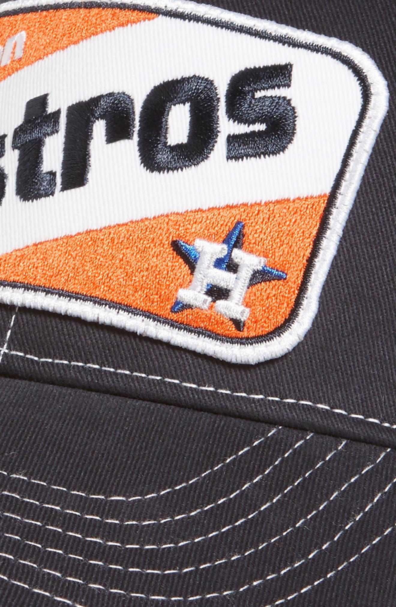 '47, Woodlawn Houston Astros Trucker Hat, Alternate thumbnail 3, color, NAVY