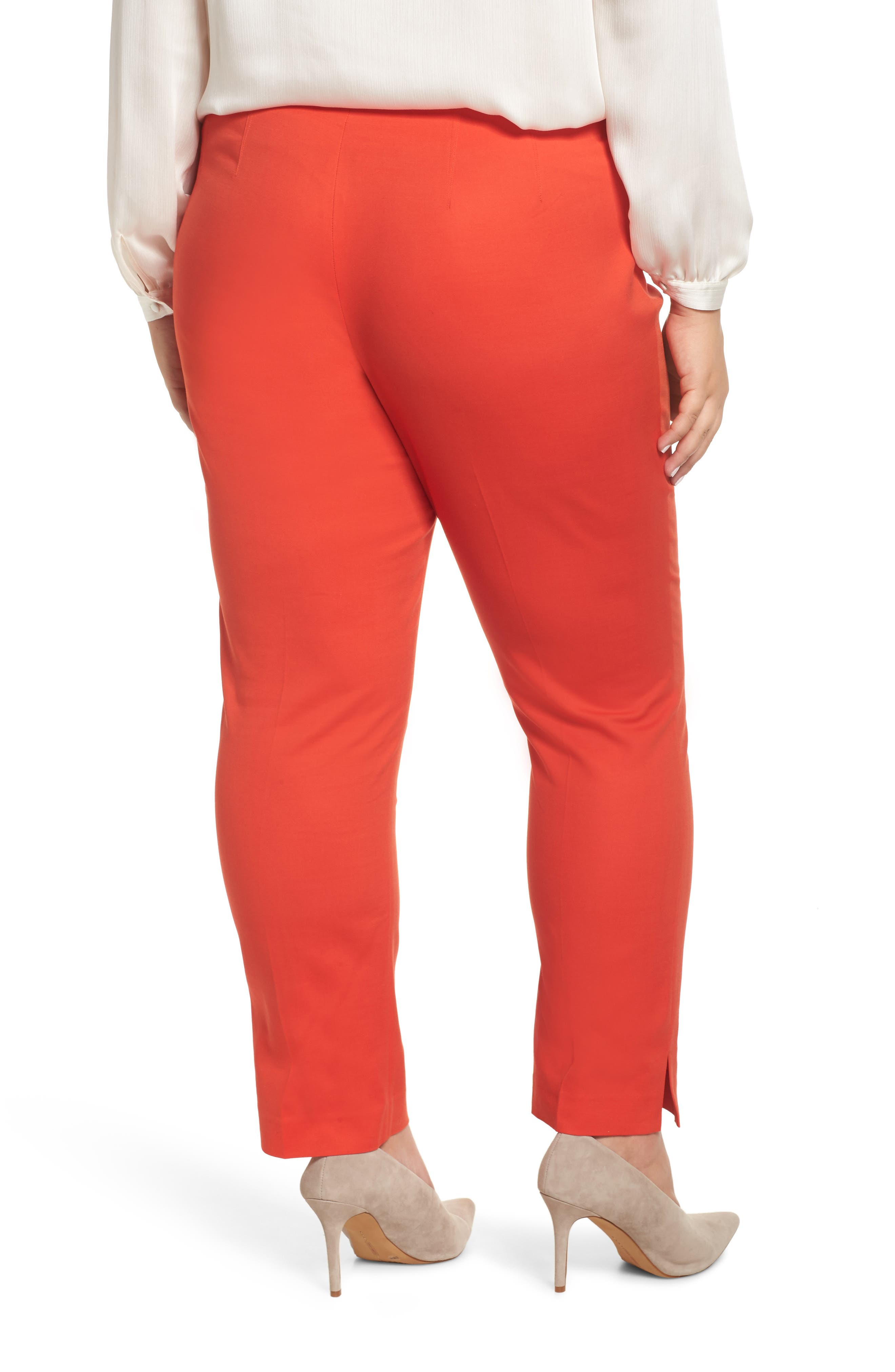 VINCE CAMUTO, Vented Cuff Slim Pants, Alternate thumbnail 2, color, 600