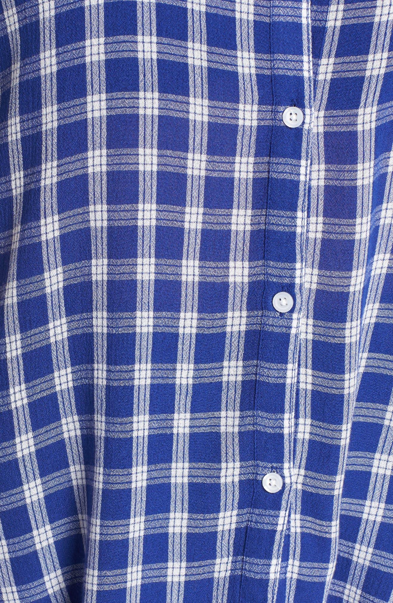 BP., Plaid Dolman Sleeve Shirt, Alternate thumbnail 11, color, 420