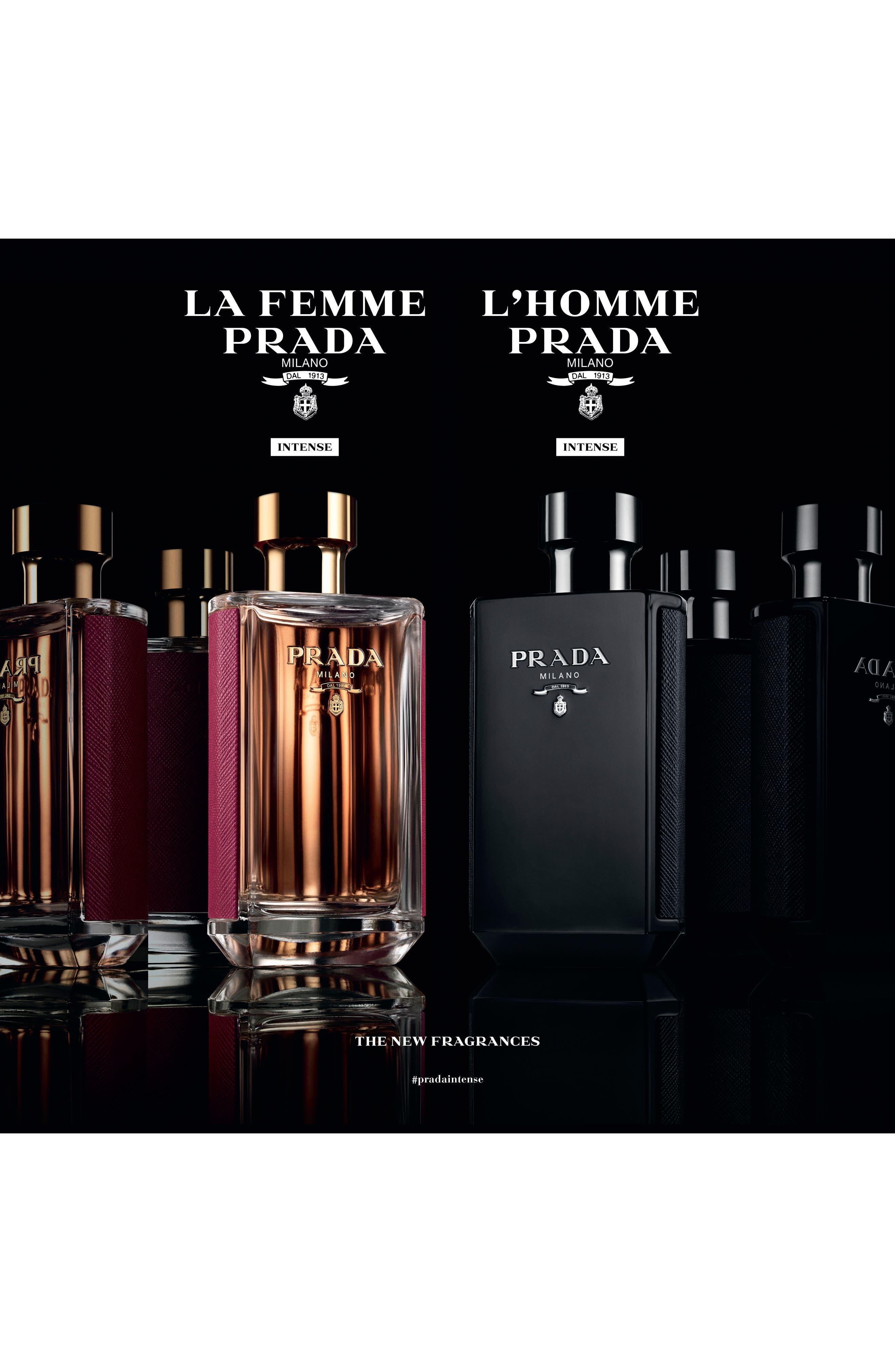 PRADA, La Femme Prada Eau de Parfum, Alternate thumbnail 5, color, NO COLOR