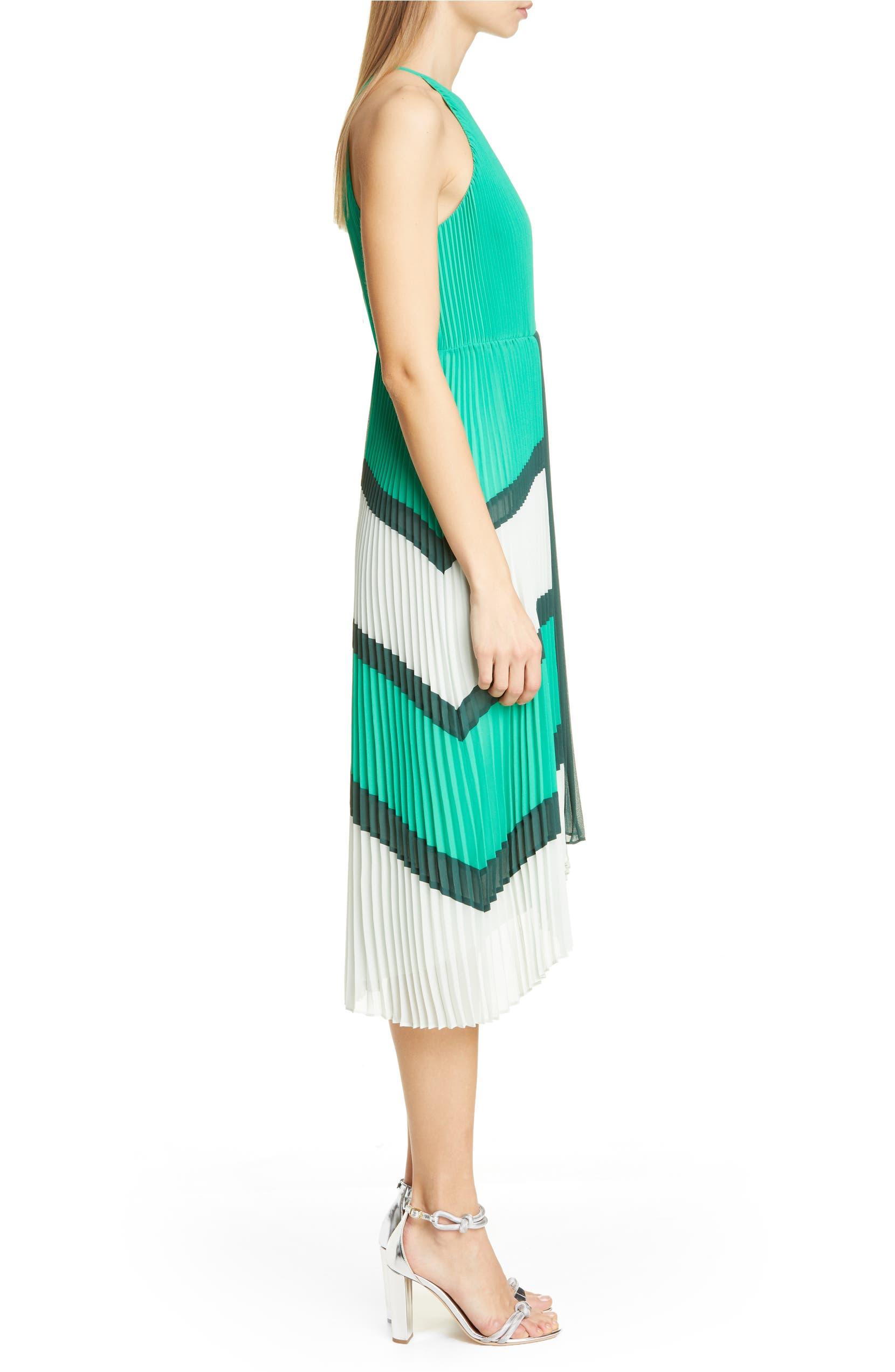 f3e591d061165 Ted Baker London Nellina Pleated Midi Dress