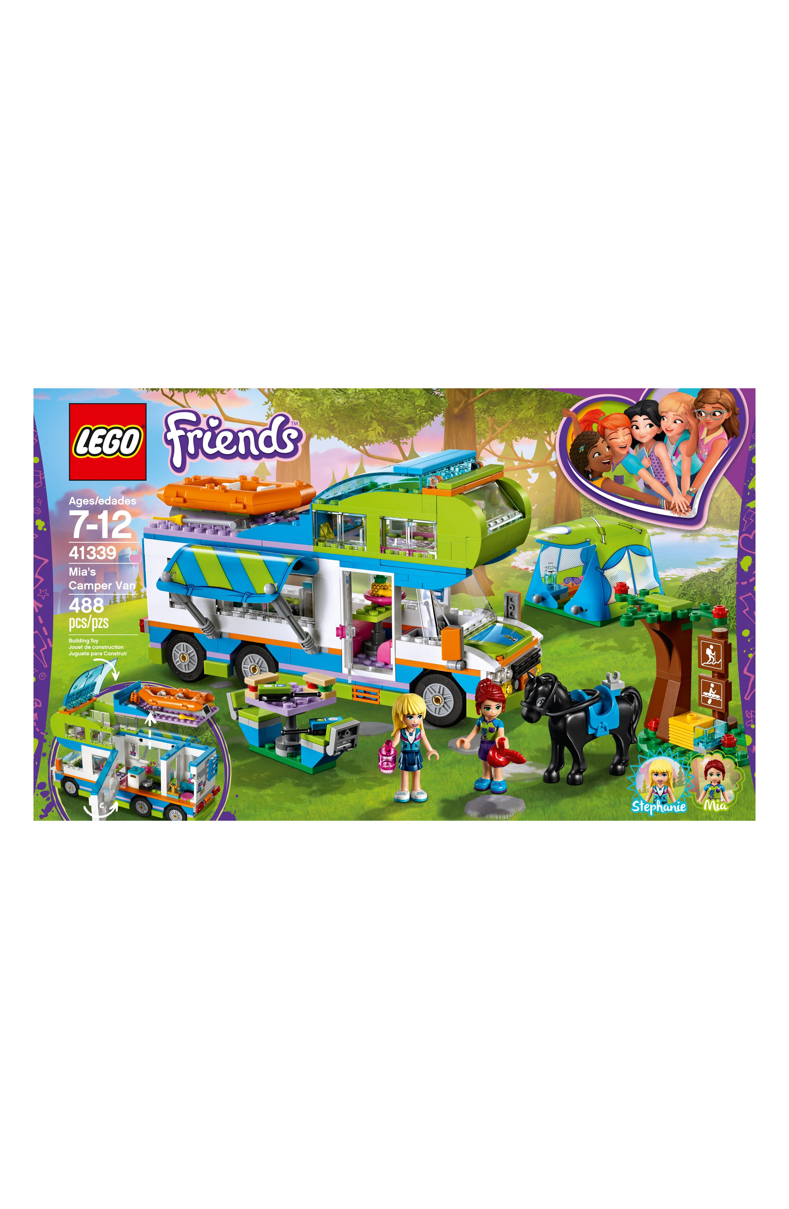 LEGO<SUP>®</SUP>, Friends Mia's Camper Van - 41339, Alternate thumbnail 2, color, MULTI
