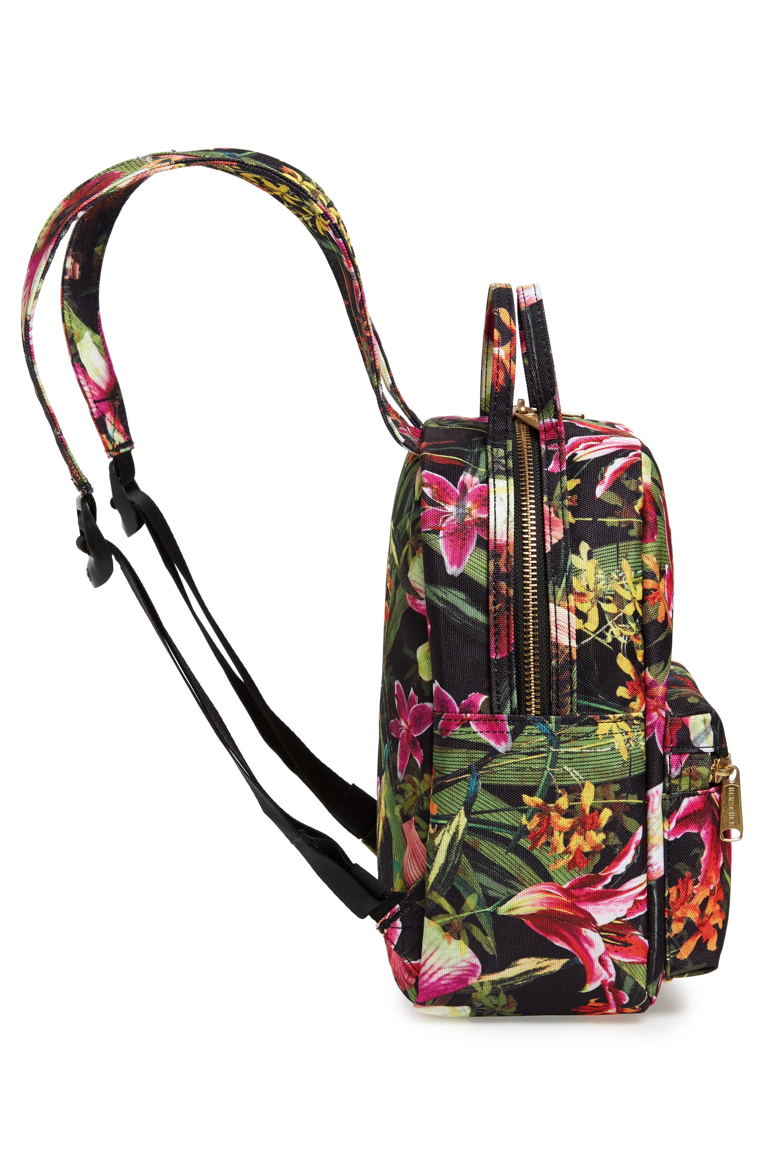 HERSCHEL SUPPLY CO., Mini Nova Backpack, Alternate thumbnail 6, color, JUNGLE HOFFMAN