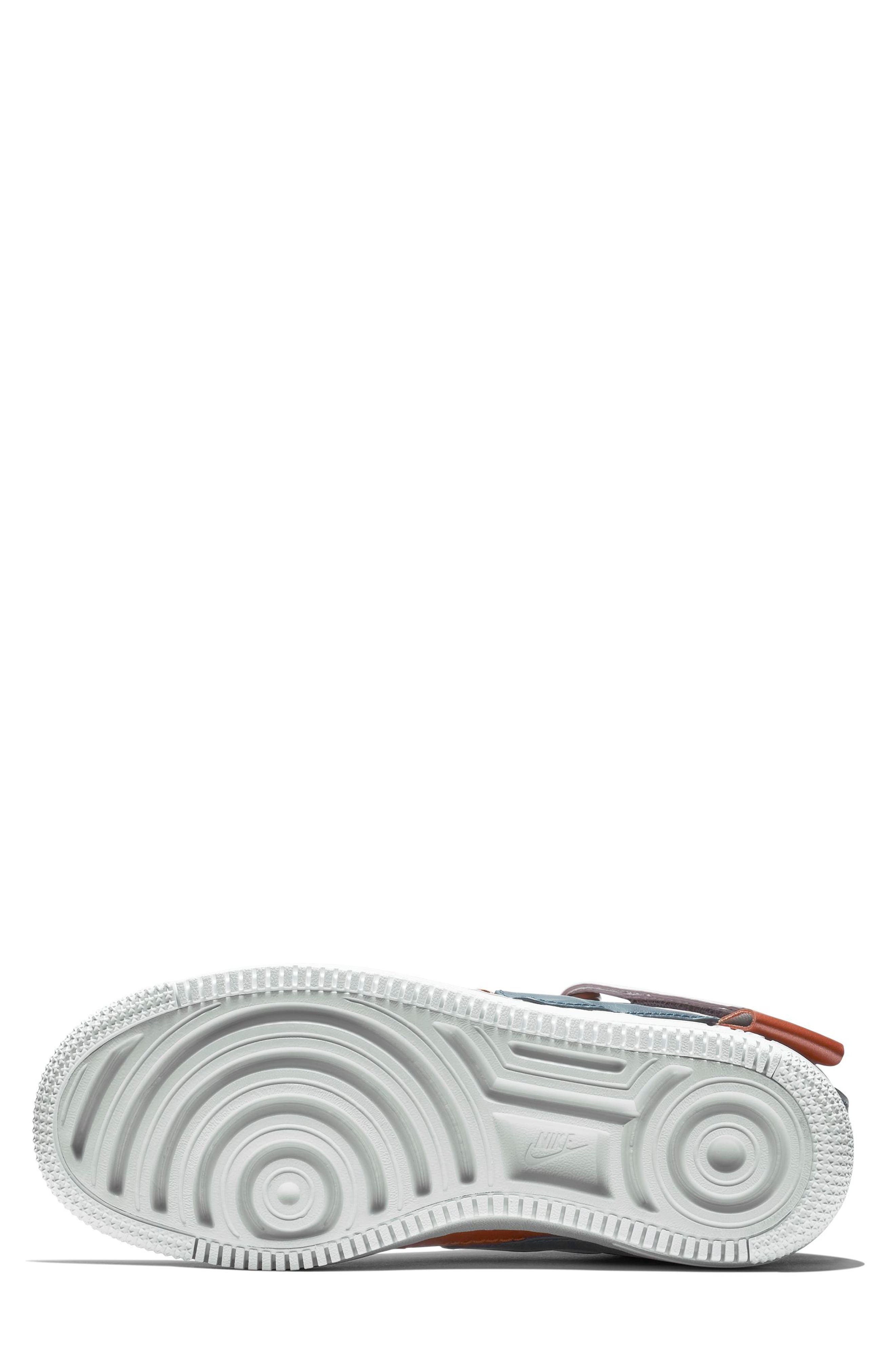 NIKE, Air Force 1 Jester High XX Sneaker, Alternate thumbnail 5, color, 500