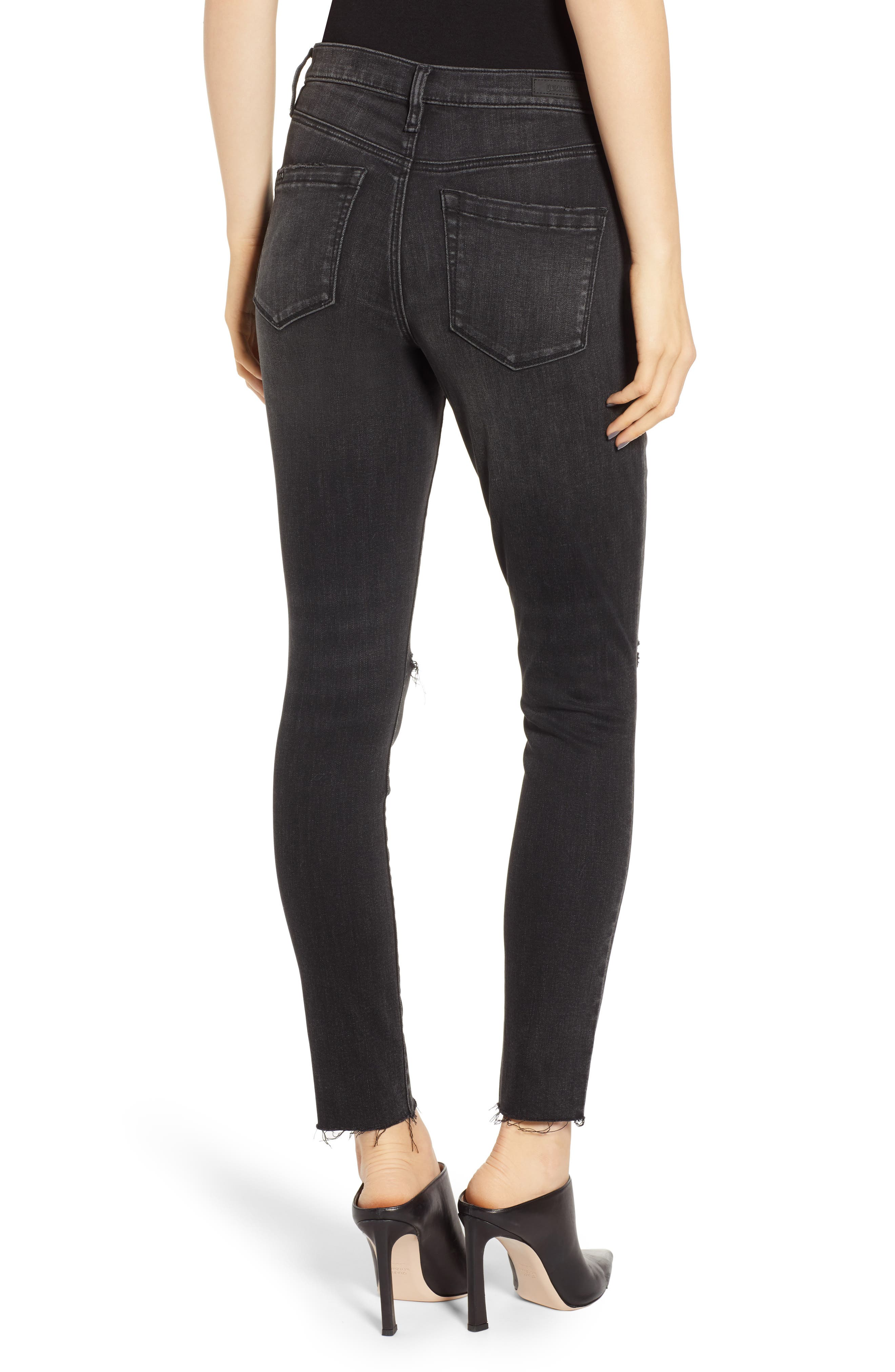 BLANKNYC, The Bond Skinny Jeans, Alternate thumbnail 2, color, 001