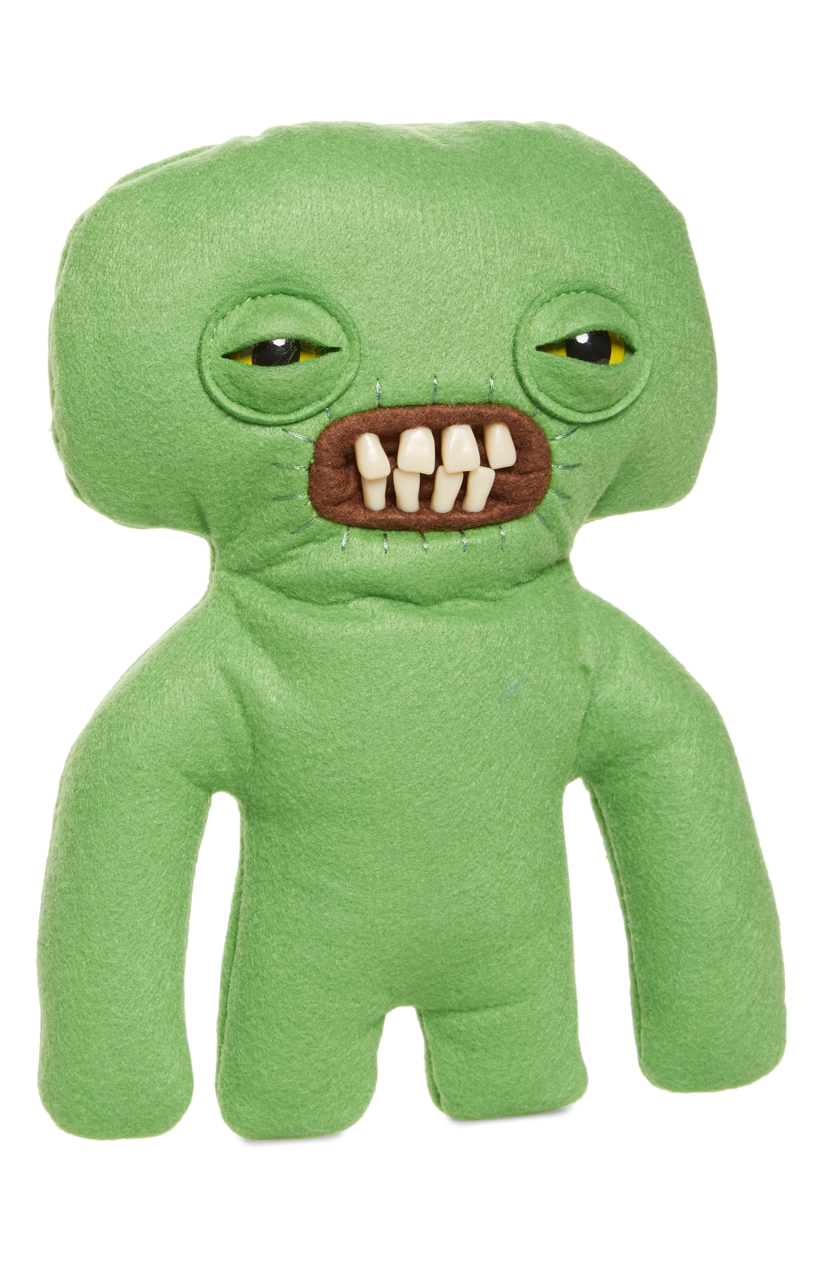 SPIN MASTER, Medium Fugglers Plush Toy, Main thumbnail 1, color, GREEN