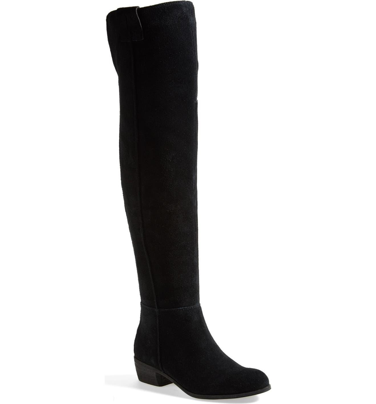 27a08cdc1607 Sam Edelman  Johanna  Over the Knee Suede Boot (Women)