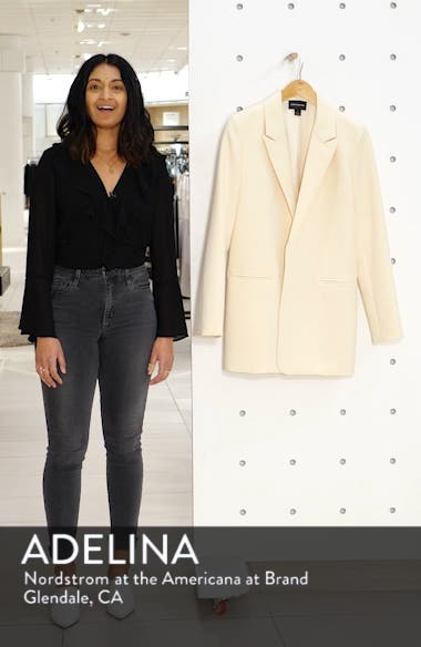 a1dc802a740 Something Navy Easy Clean Blazer (Nordstrom Exclusive)