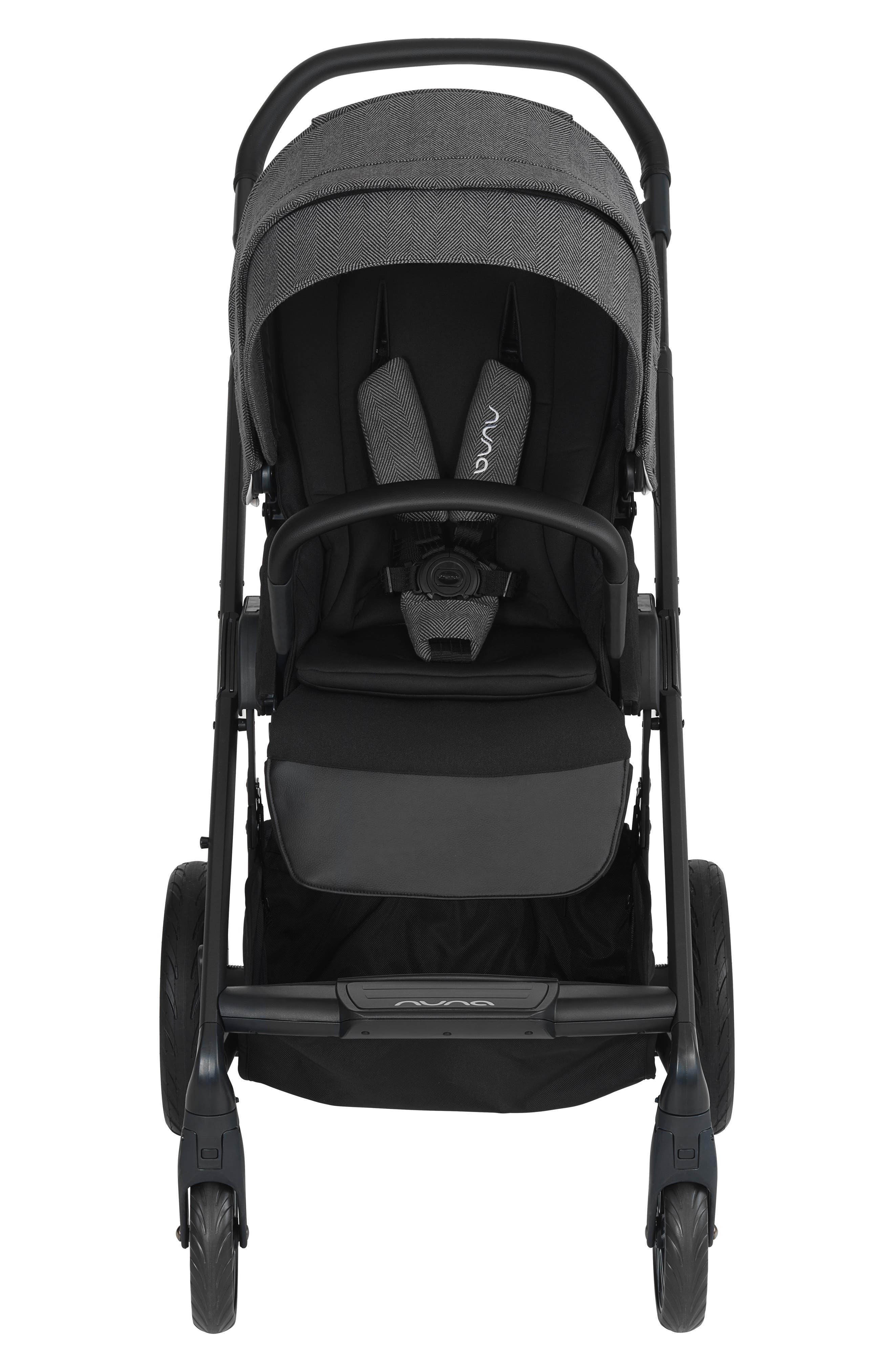 NUNA, 2019 MIXX<sup>™</sup> Stroller & PIPA<sup>™</sup> Lite LX Infant Car Seat Set Travel System, Alternate thumbnail 13, color, VERONA CAVIAR