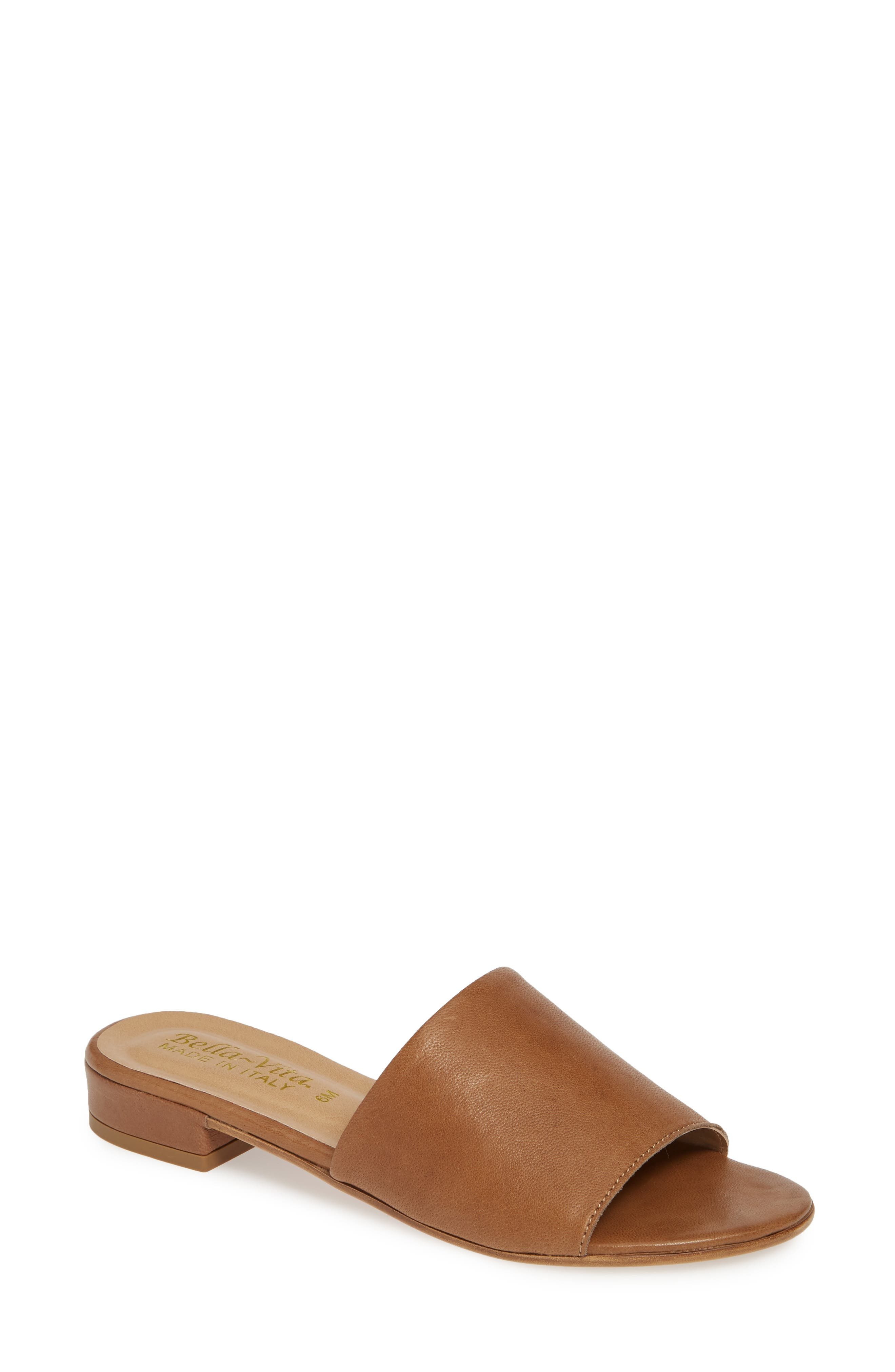 Bella Vita Slide Sandal, Brown
