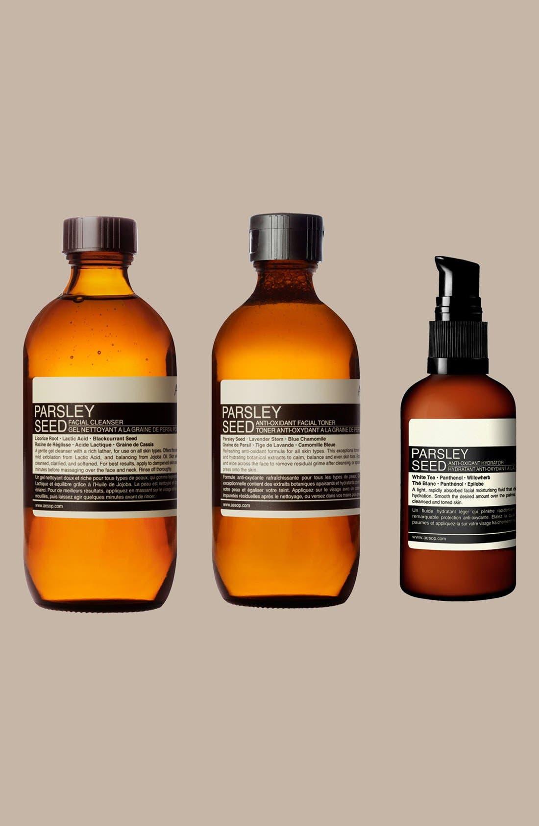 AESOP, Parsley Seed Anti-Oxidant Facial Toner, Alternate thumbnail 3, color, NONE