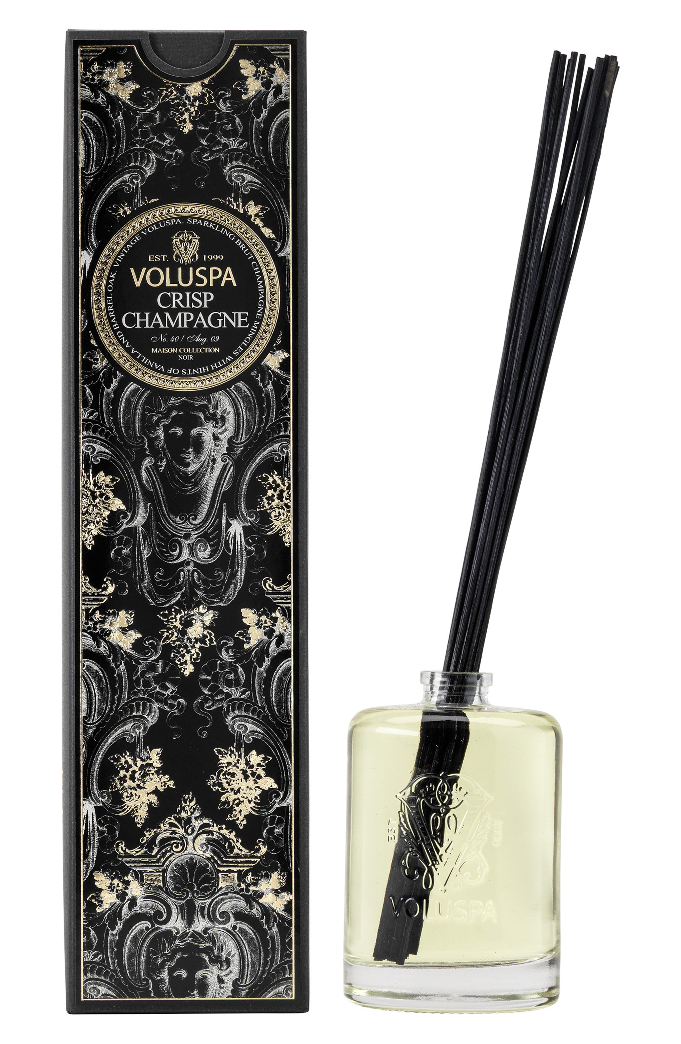 VOLUSPA, Maison Noir Crisp Champagne Fragrant Oil Diffuser, Main thumbnail 1, color, NO COLOR