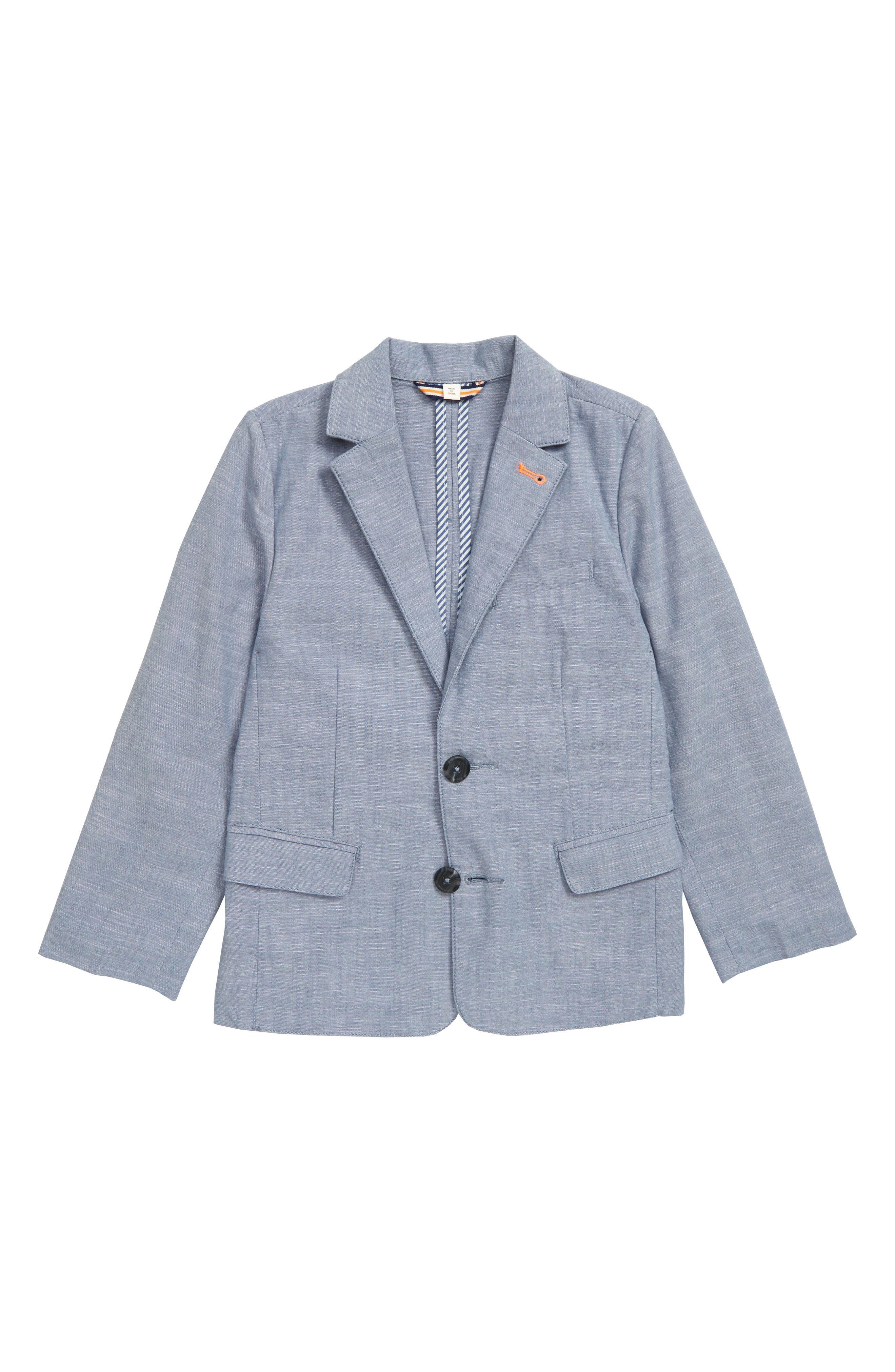 Boys Mini Boden Lightweight Blazer Size 910Y  Blue