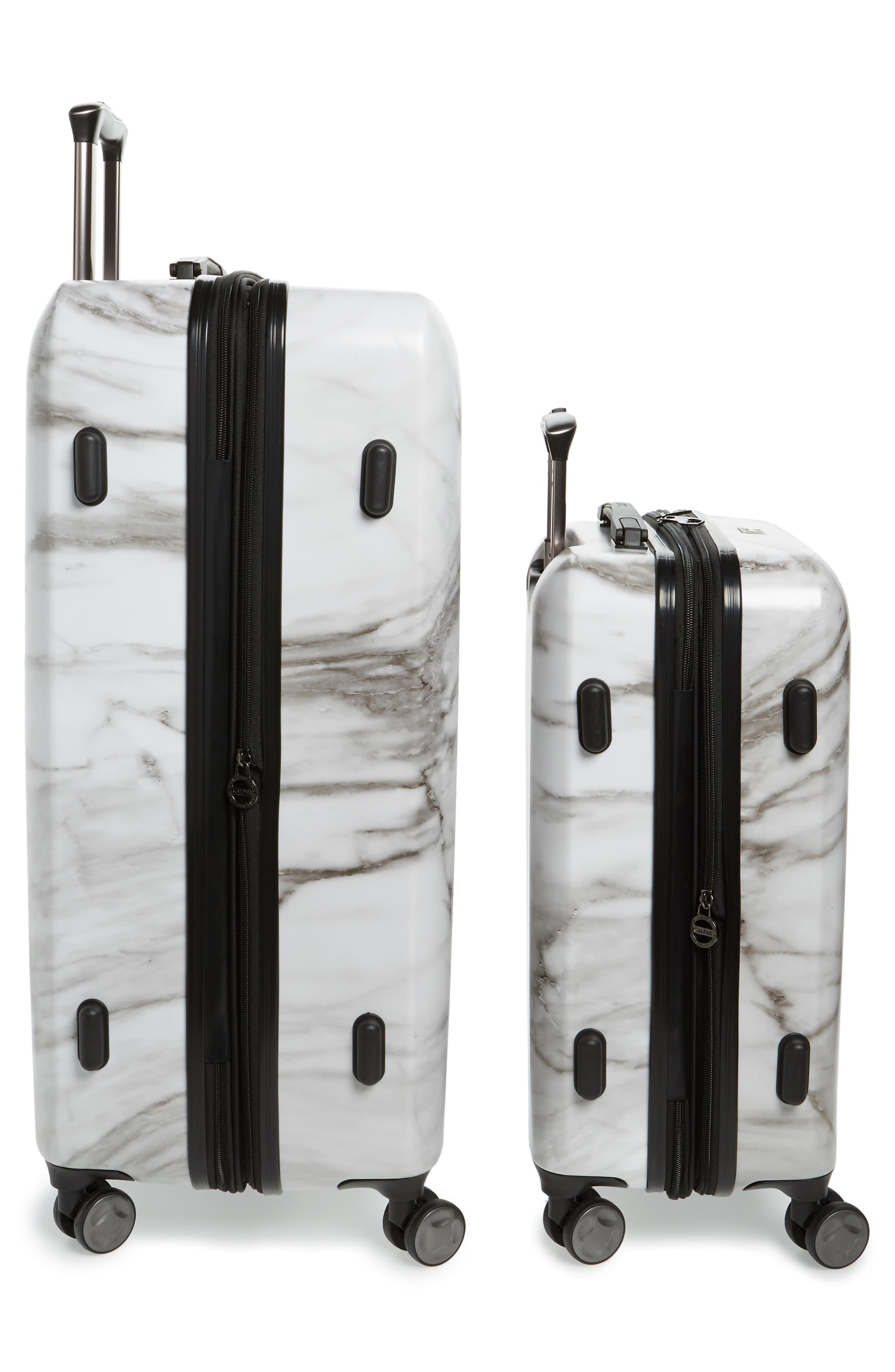CALPAK, Astyll 22-Inch & 30-Inch Spinner Luggage Set, Alternate thumbnail 3, color, MILK MARBLE