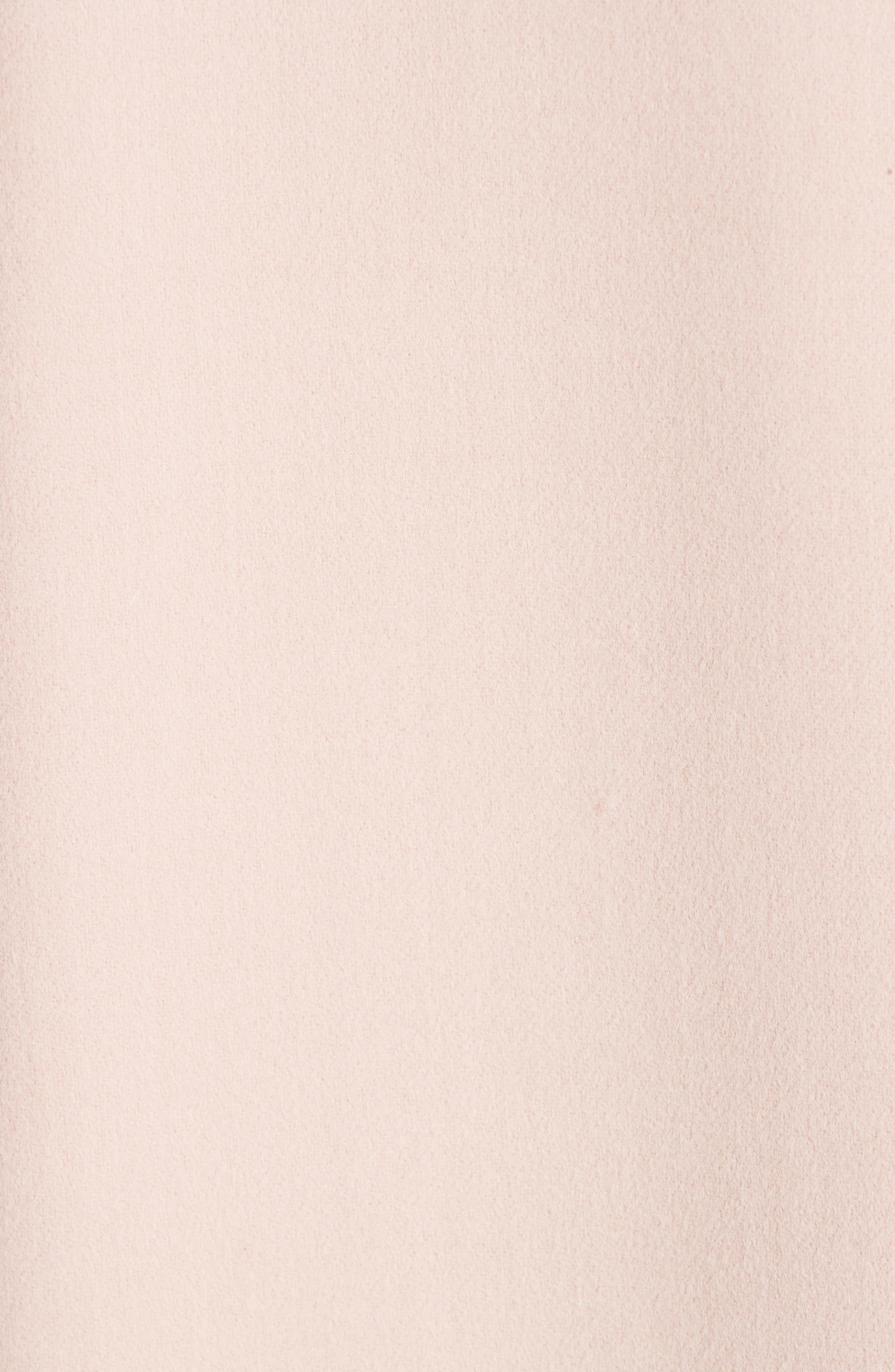 MANSUR GAVRIEL, Wool & Cashmere Coat, Alternate thumbnail 6, color, 650